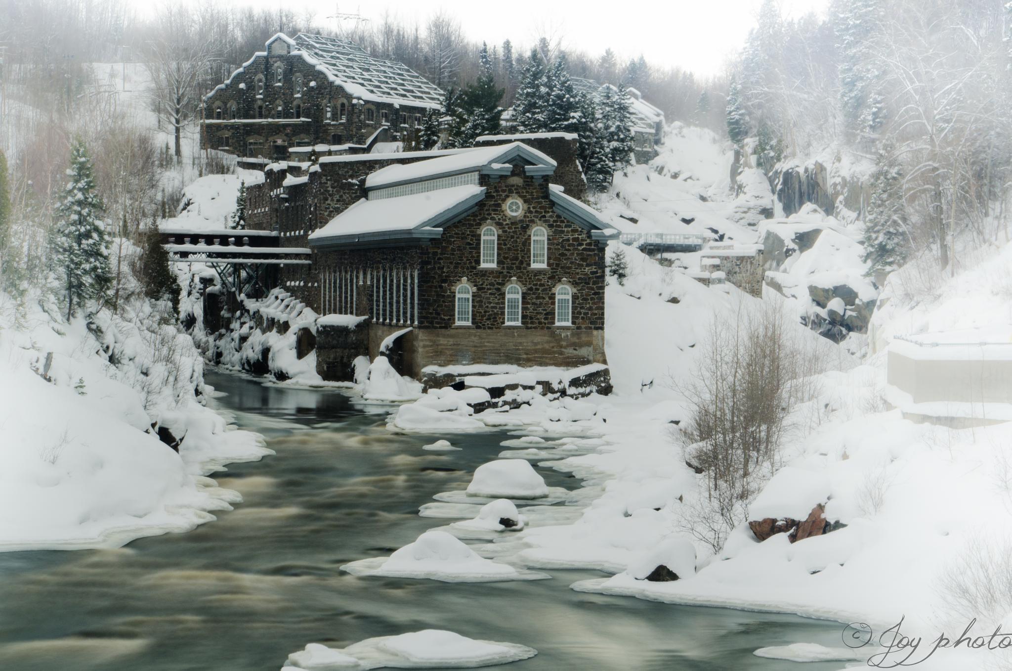 Winter by Yvon Guignard