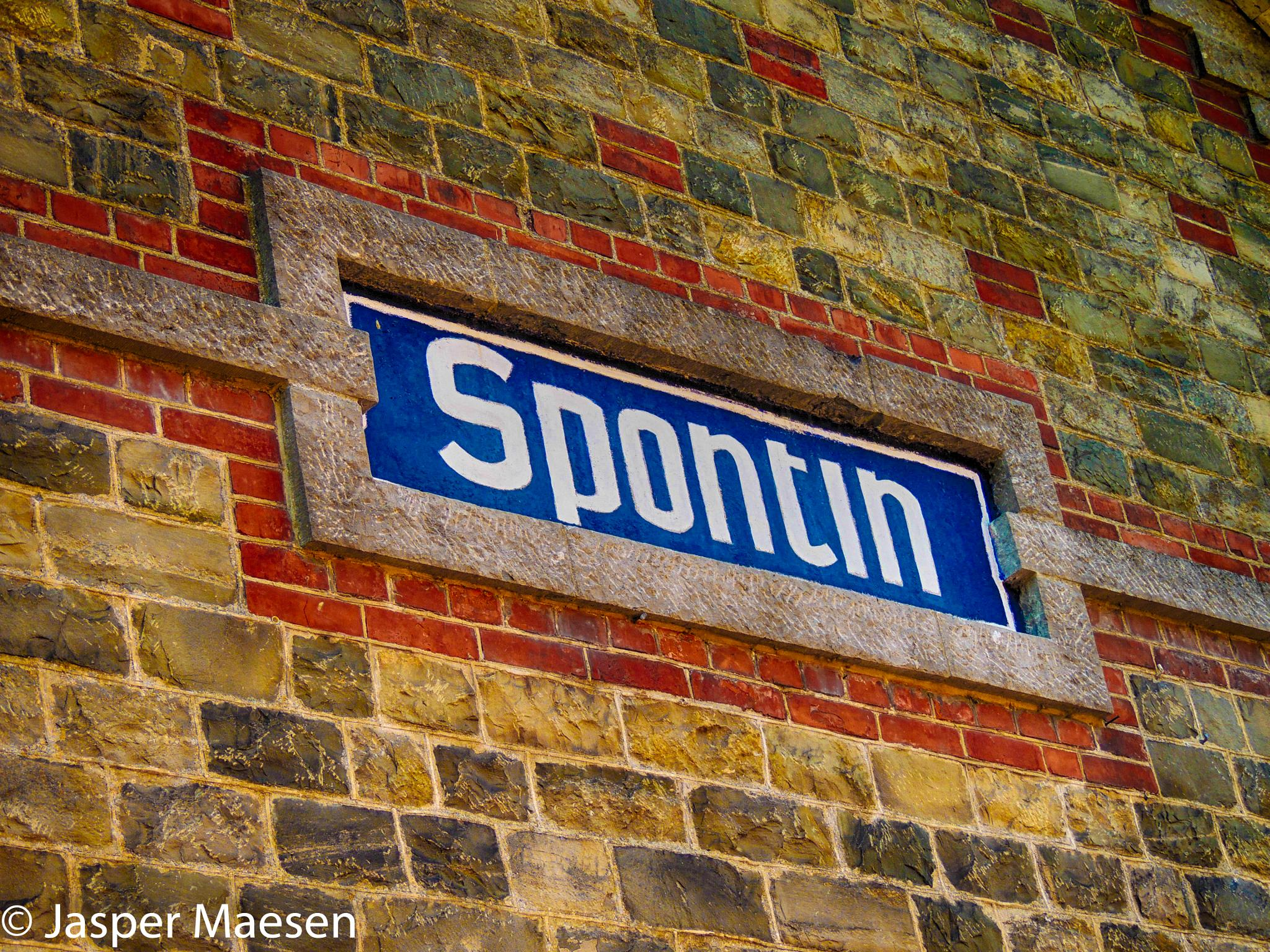 Spontin Train Station by Jasma Photography