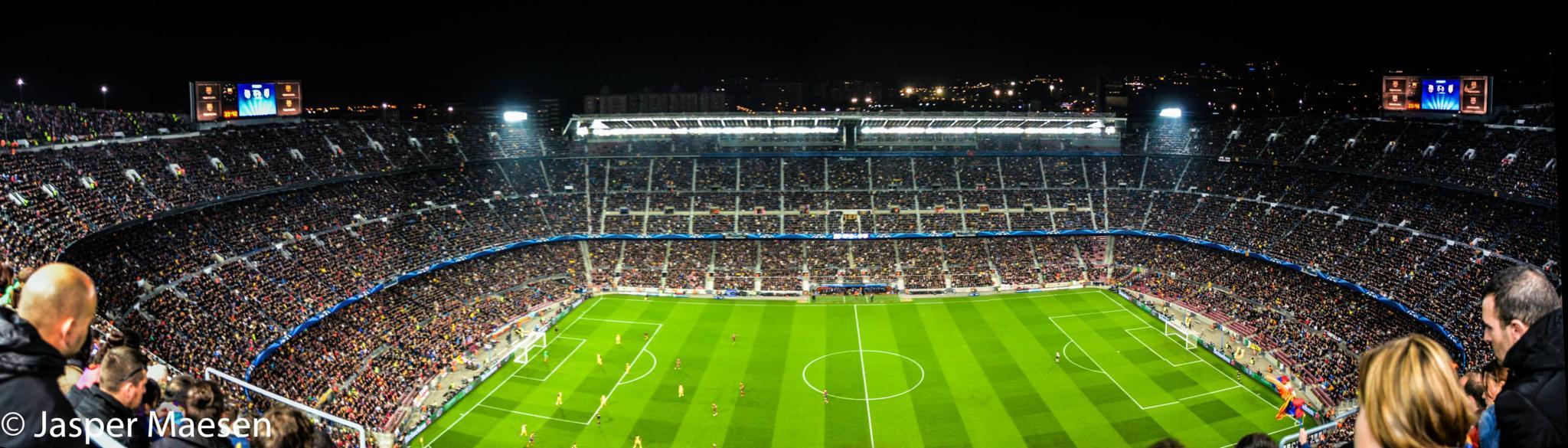Camp Nou by Jasma Photography