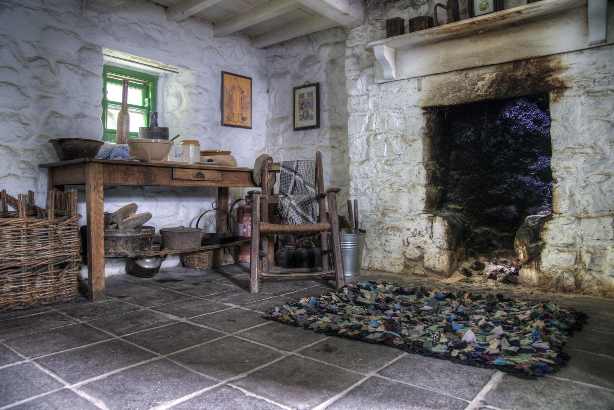 Vintage HDR farm house INside by Zoltan Kovacs