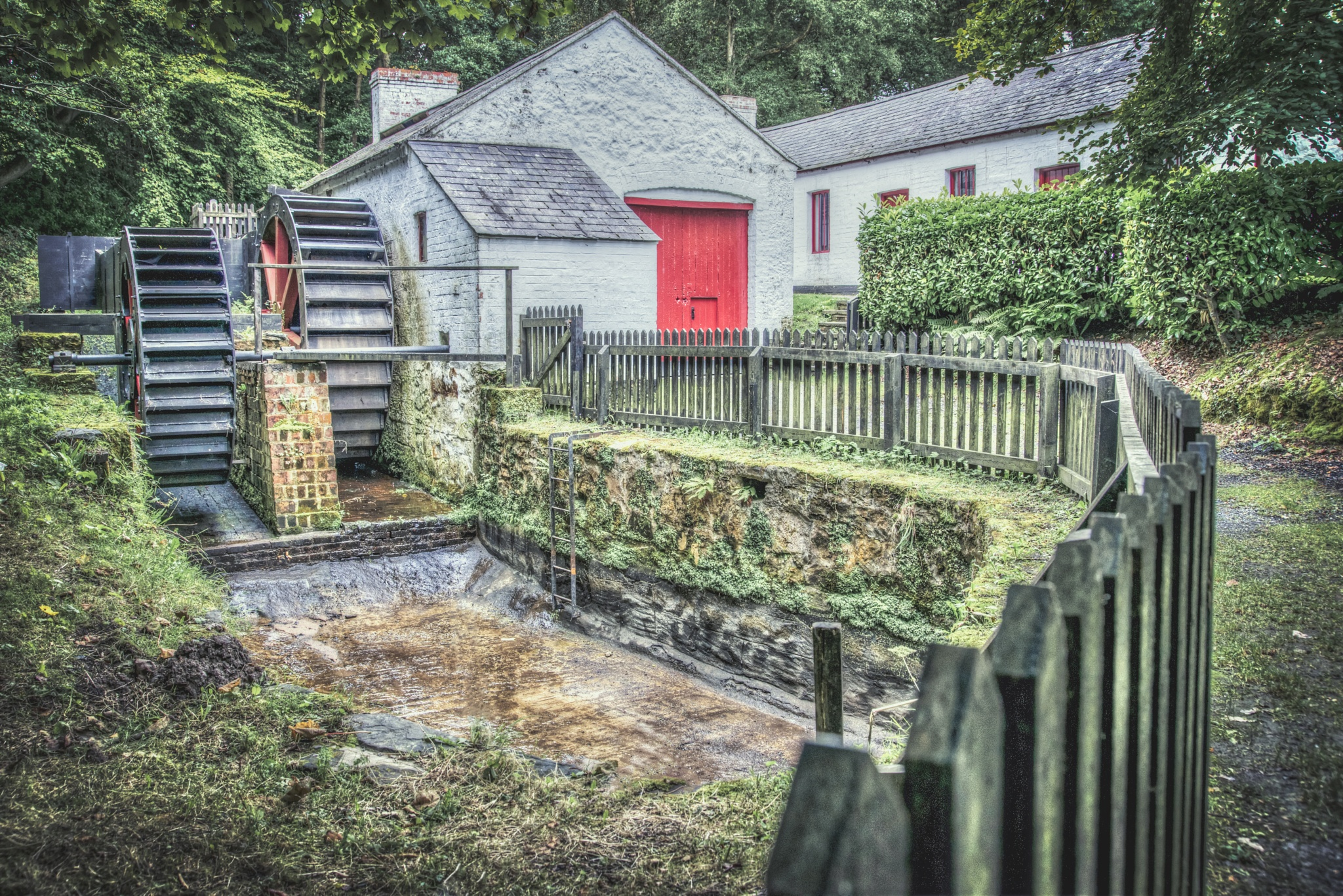 Vintage hdr watermill by Zoltan Kovacs