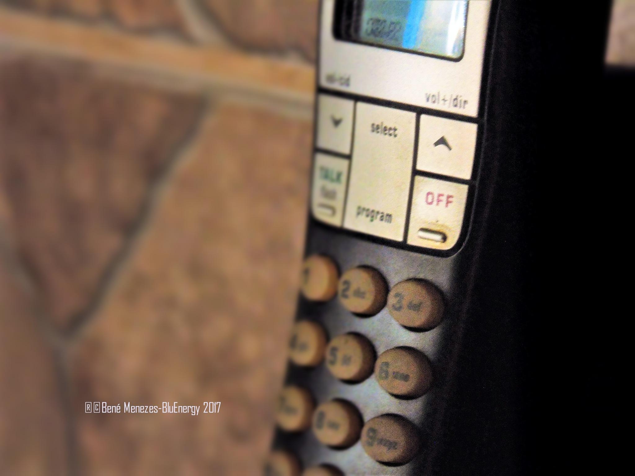 I'm Waiting For A Called...Who Will Call Me?! Ha Ha Ha Ha... by Bené Menezes
