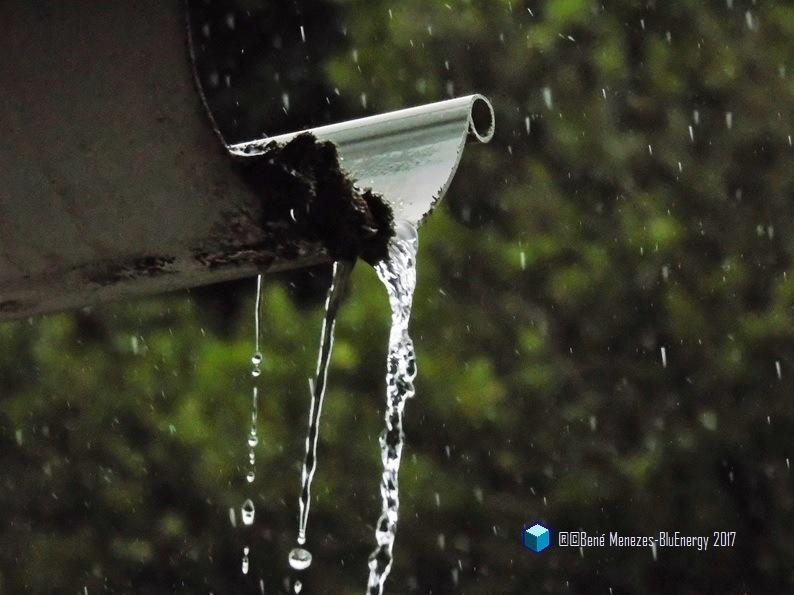 When The Rain Comes Down On, So Hard! by Bené Menezes
