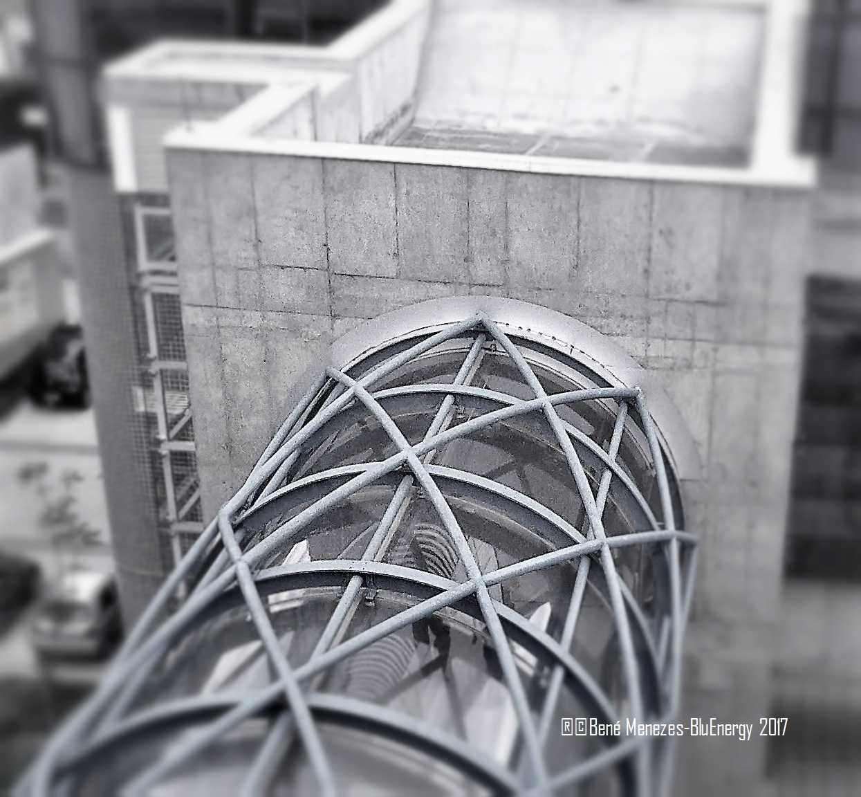 Steel And Reinforced Concrete... by Bené Menezes