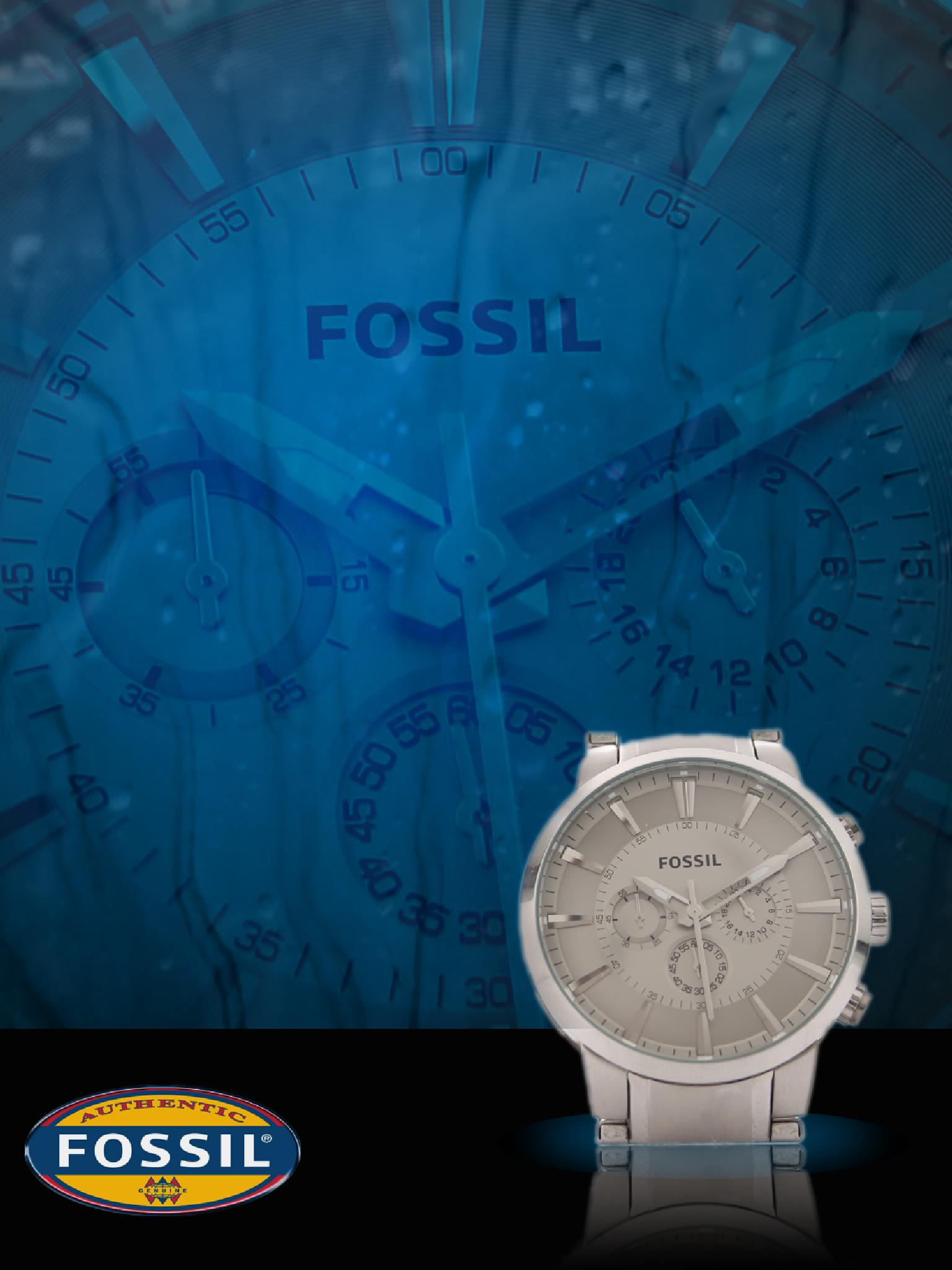 Fossil Watch by dhritimanlahiri
