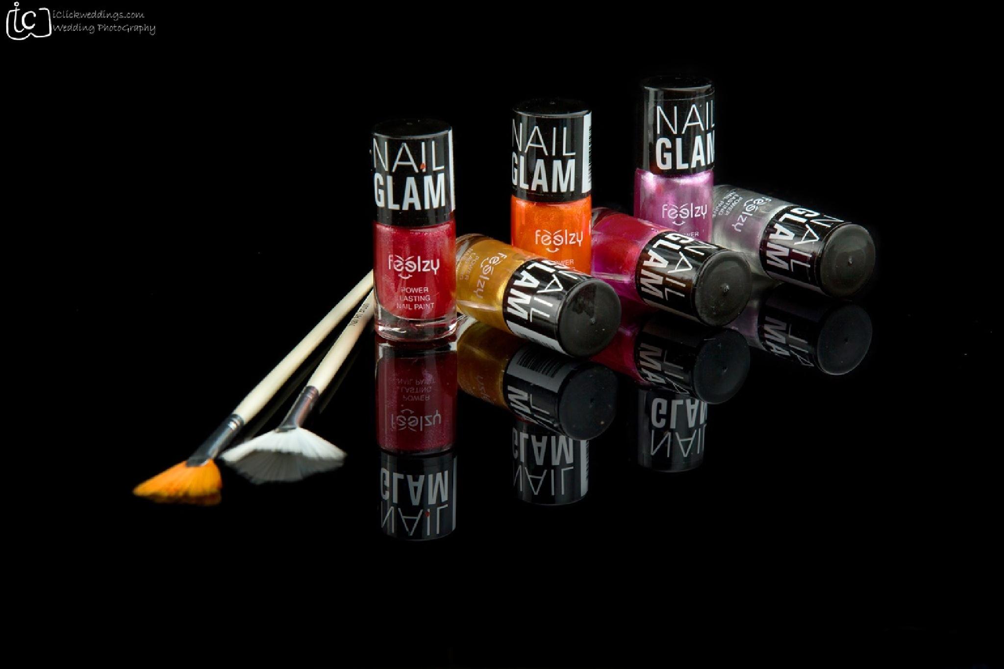 The Nail Polish Collection  by dhritimanlahiri