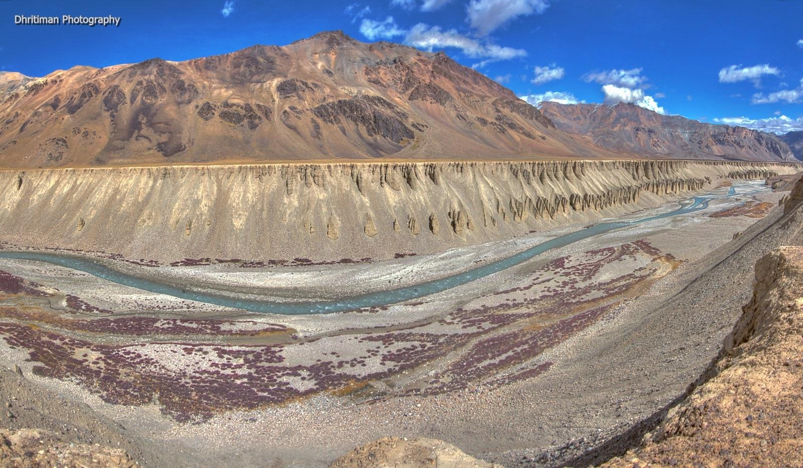 Tsarap River by dhritimanlahiri