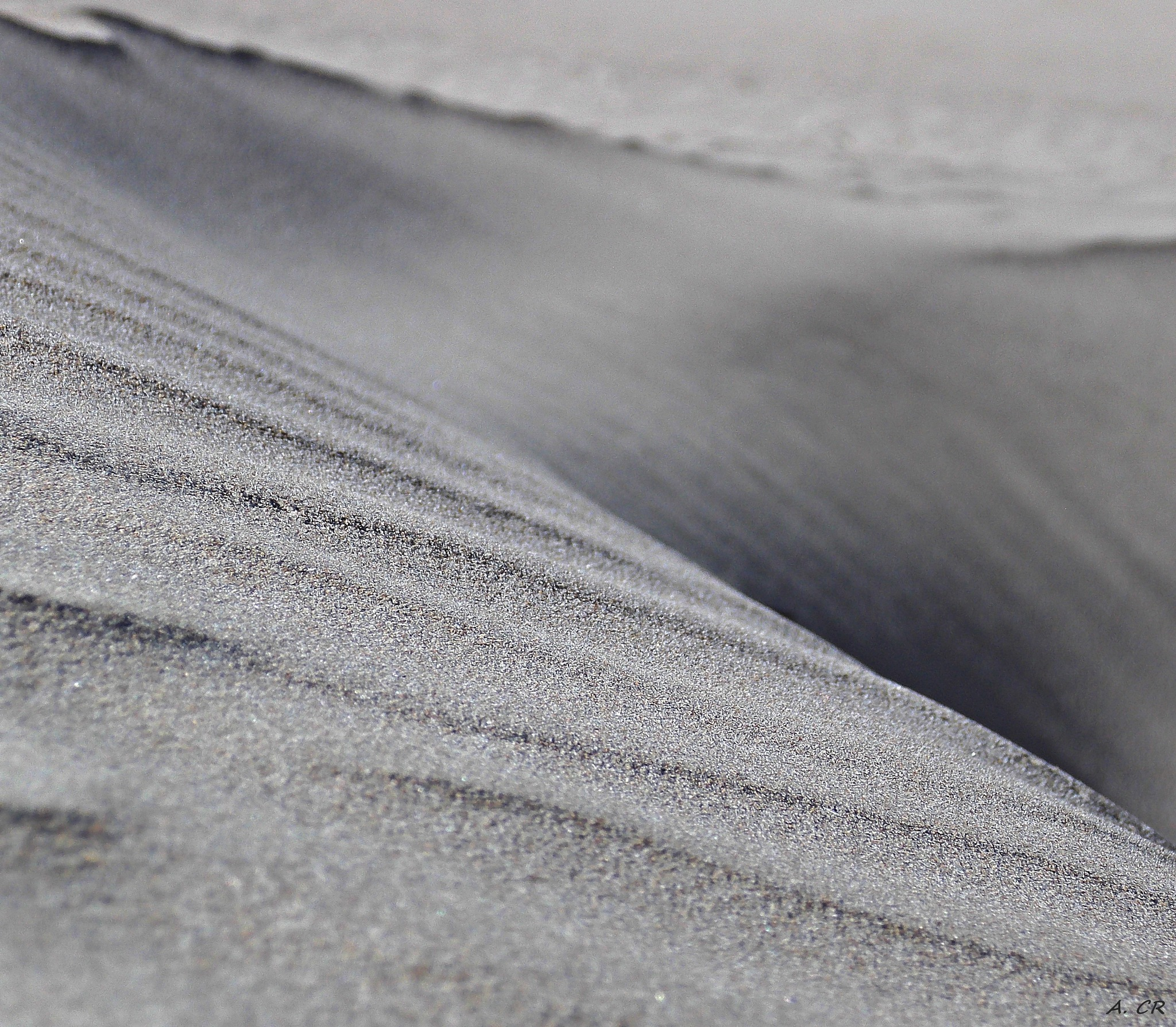 Sand formations by A. Castellano Rodriguez