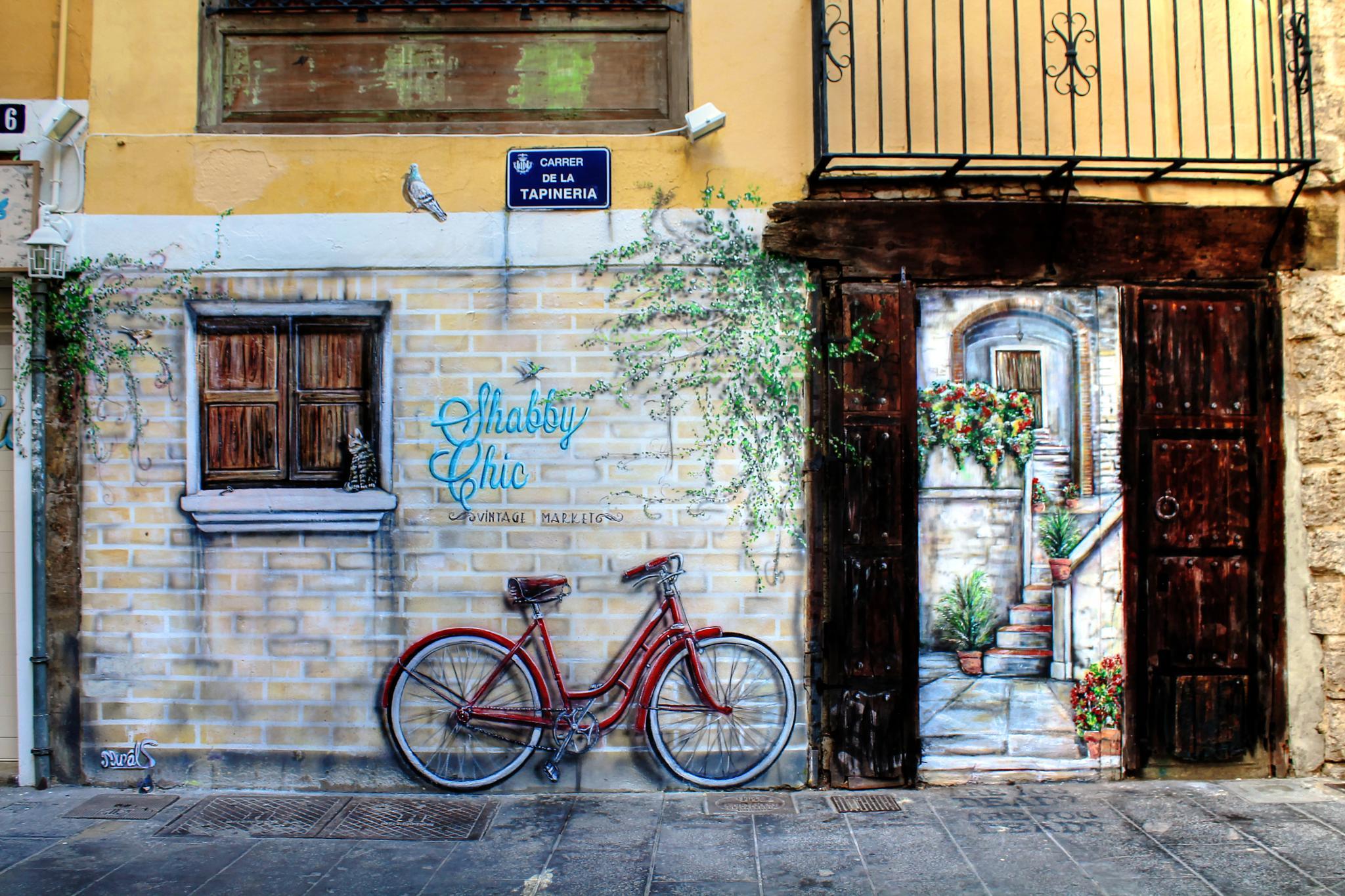 Photo in Vehicle #valência #grafitti #wall