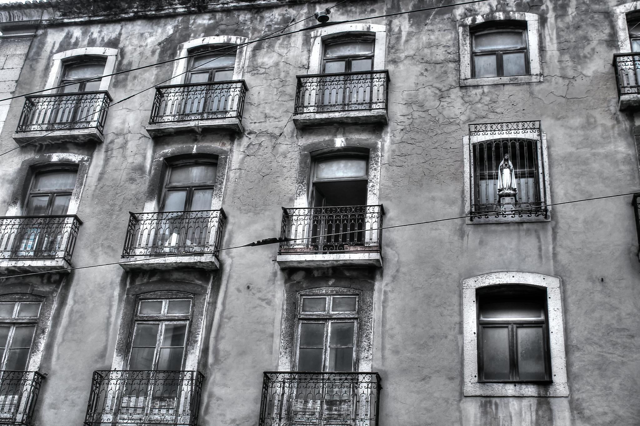 Photo in Black and White #lisboa #bairro alto #rua da misericórdia #portugal