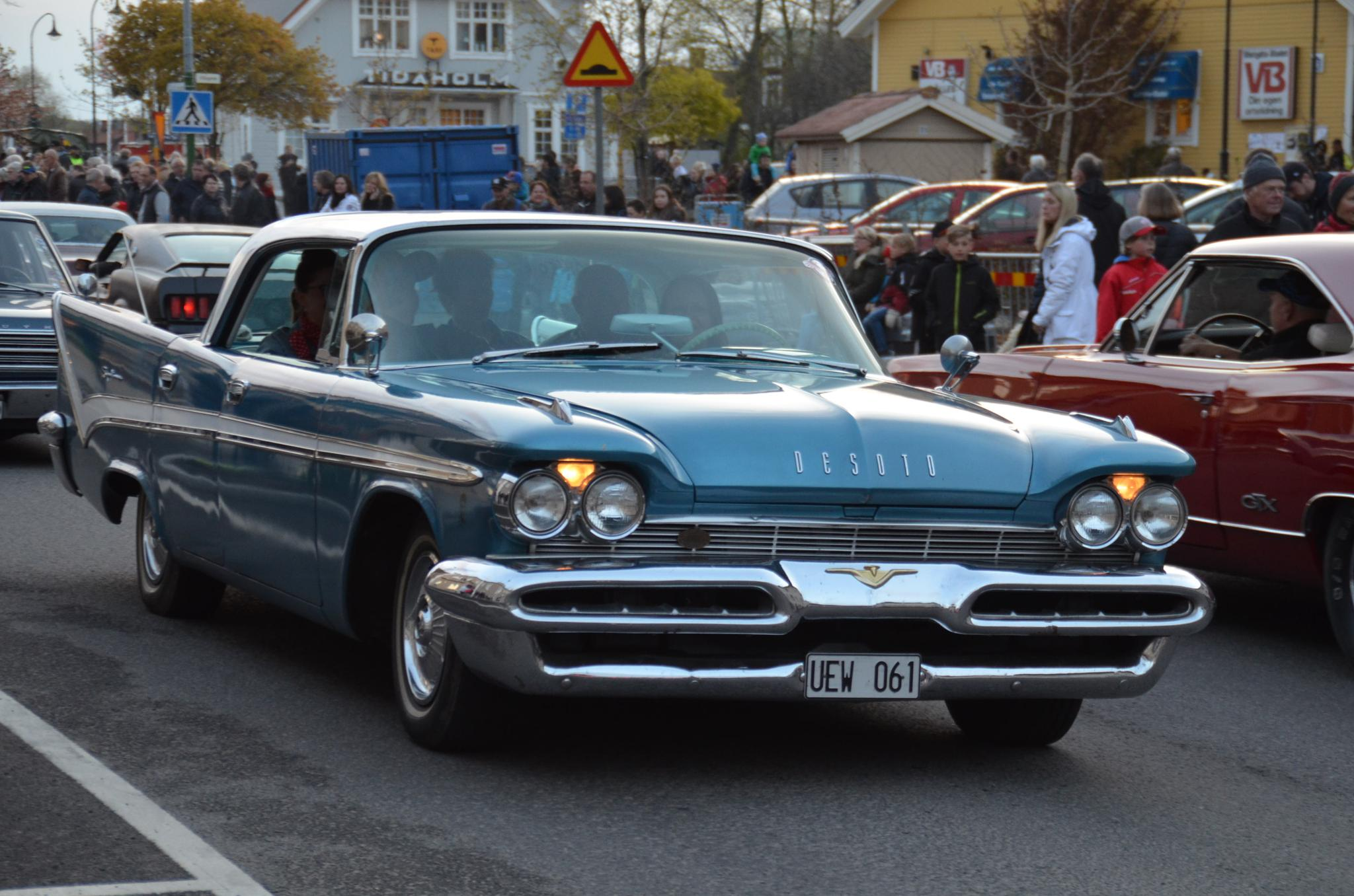 Desoto at Tidaholms Crusing by OldTractorPhotography