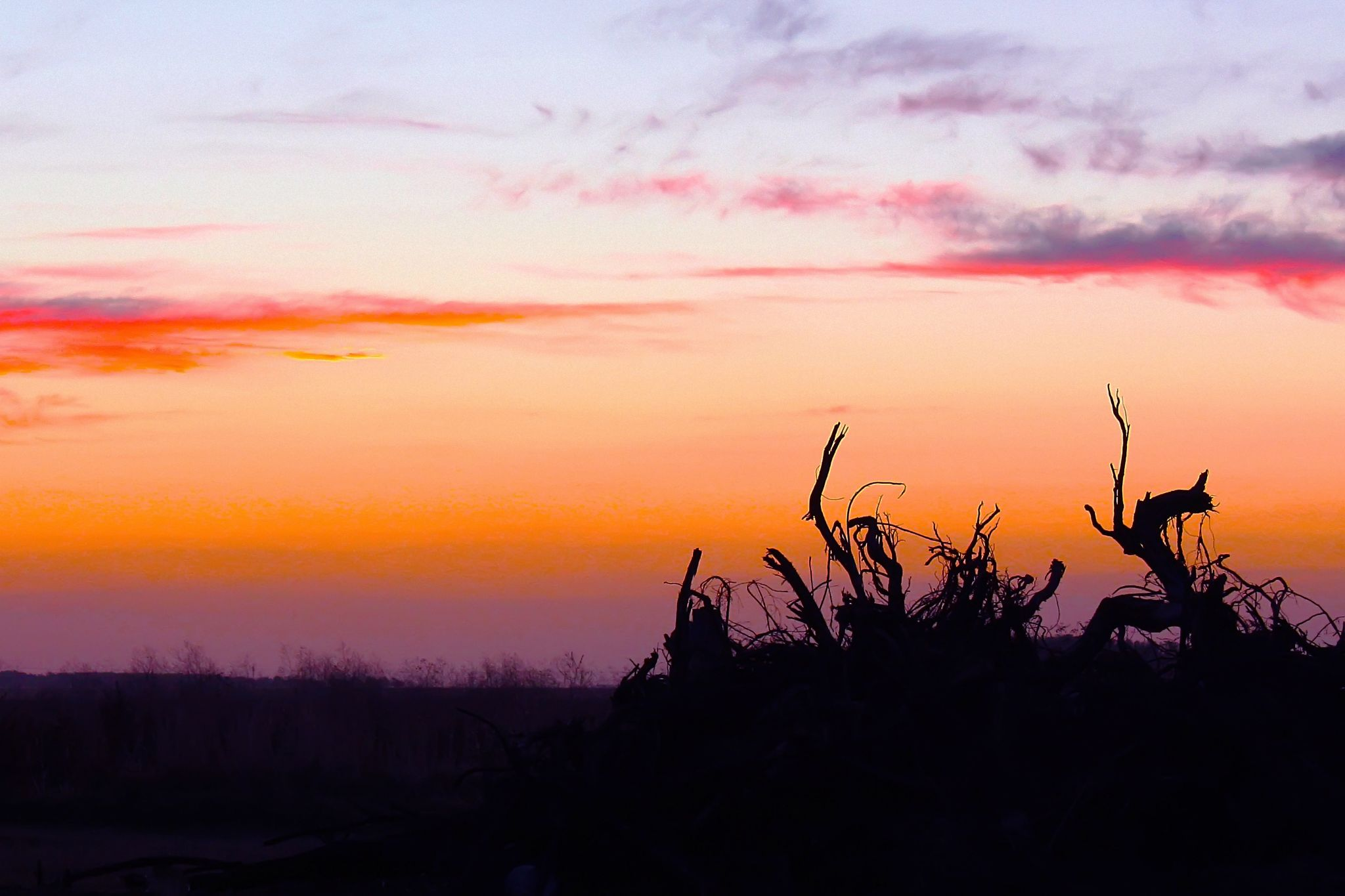 Sunset with no sun by Pablo Passero