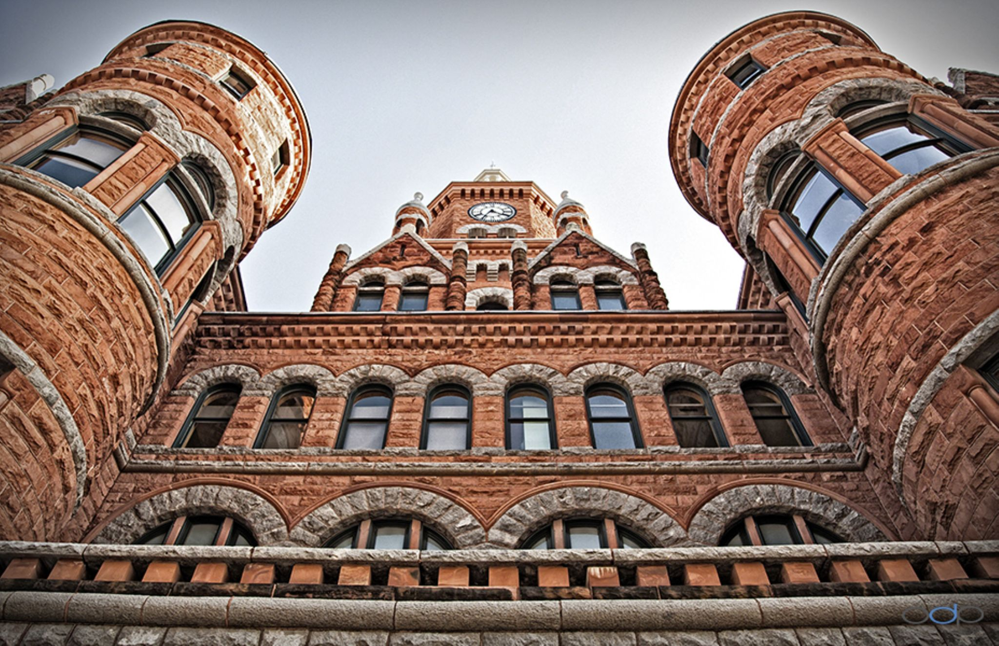 Historic Red Stone Courthouse in color . . . by OneDigitalPlacePhotography
