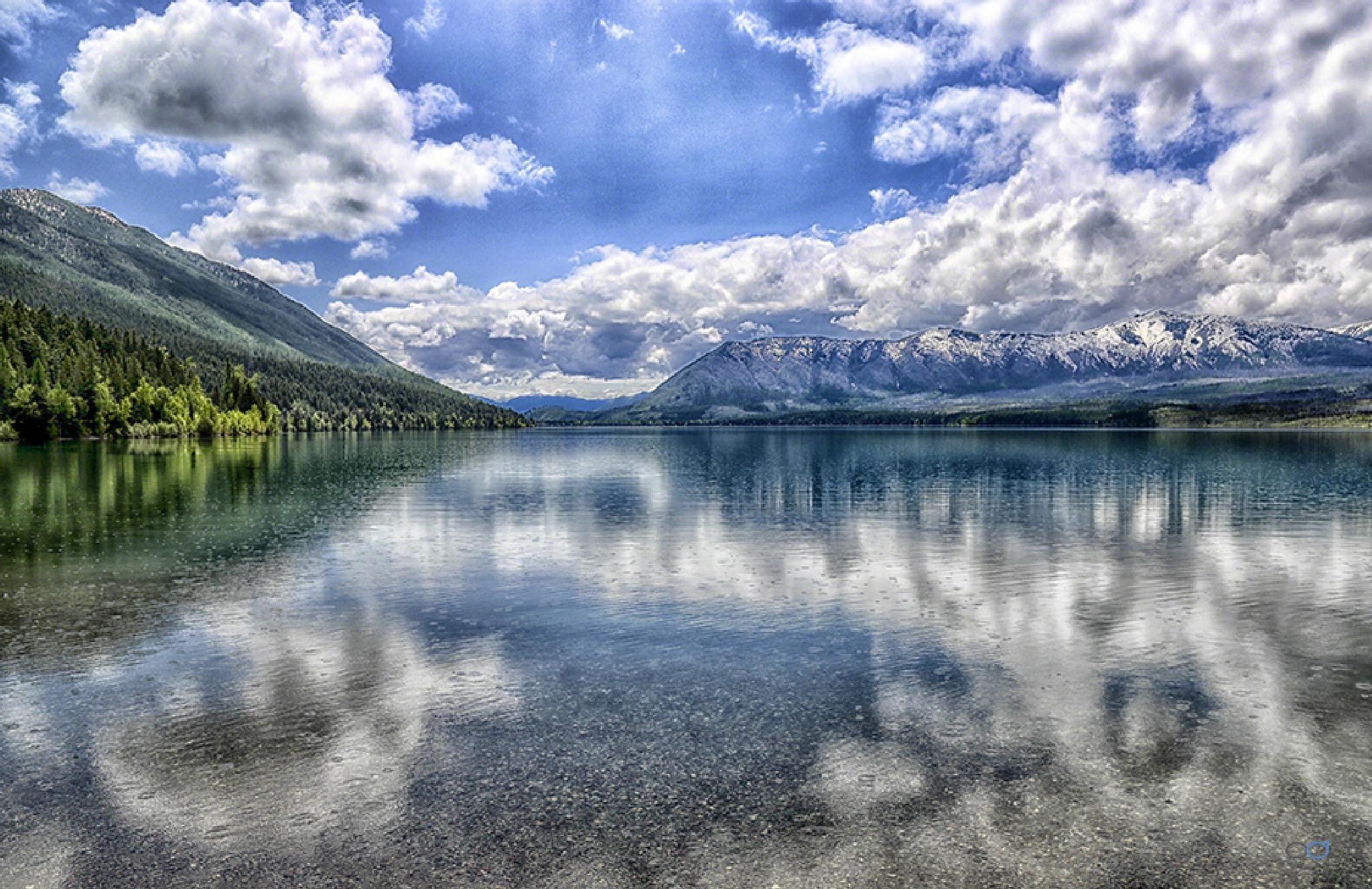 Glacier National Park mirrored lake views . . . by OneDigitalPlacePhotography