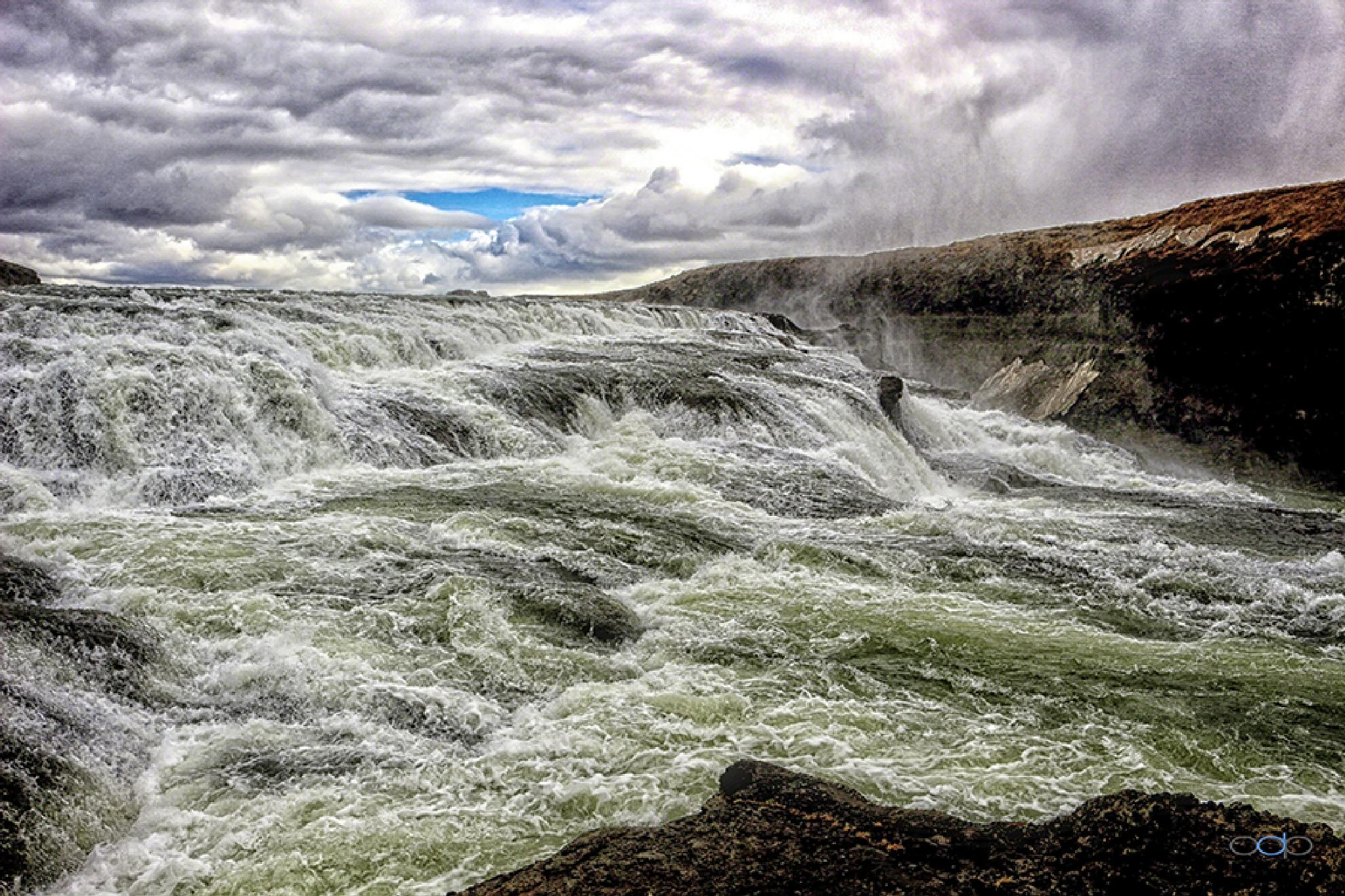 Rushing, falling and roaring water, Icelandic landscapes . . . by OneDigitalPlacePhotography