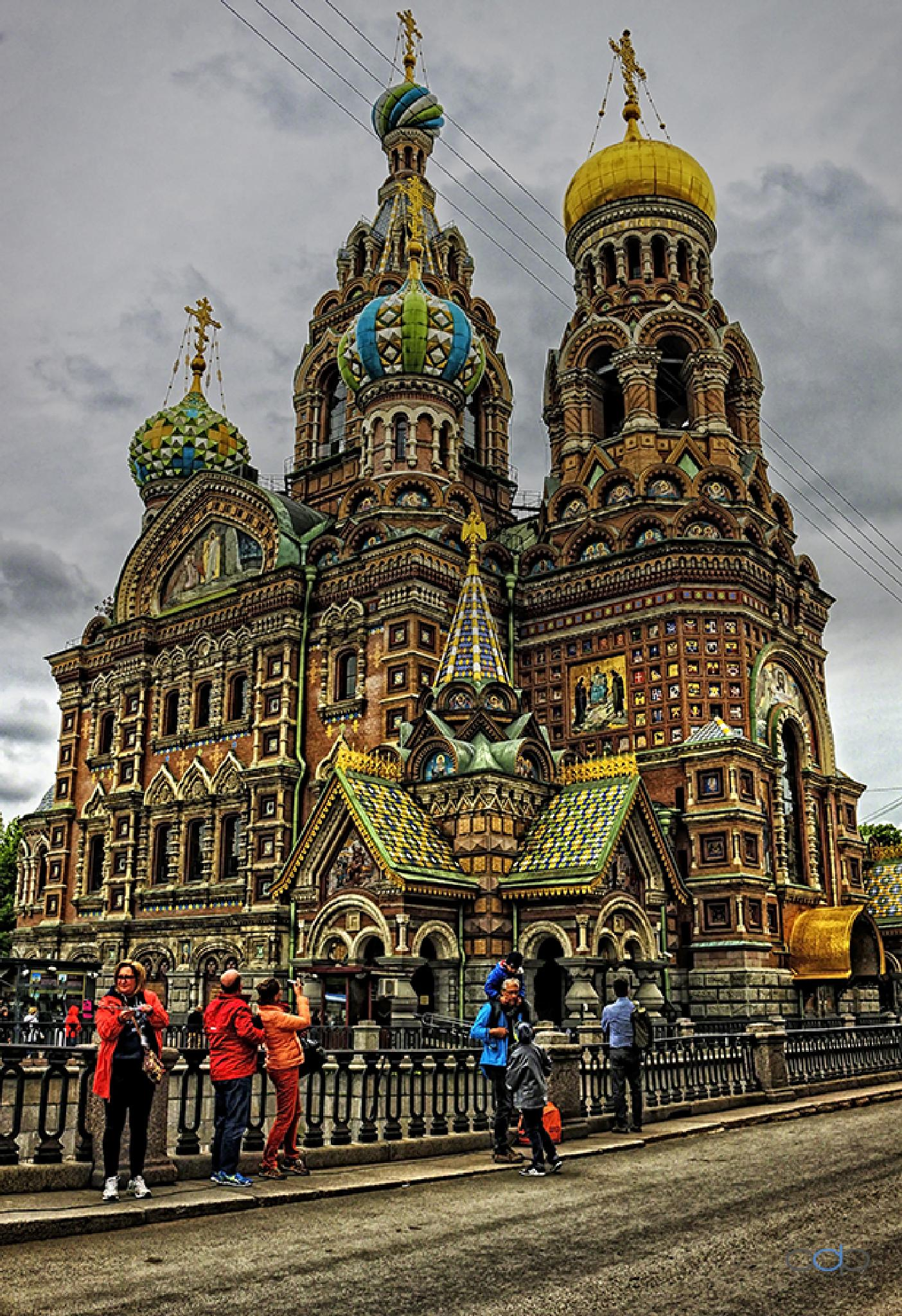 Cathedral at St. Petersburg . . . by OneDigitalPlacePhotography