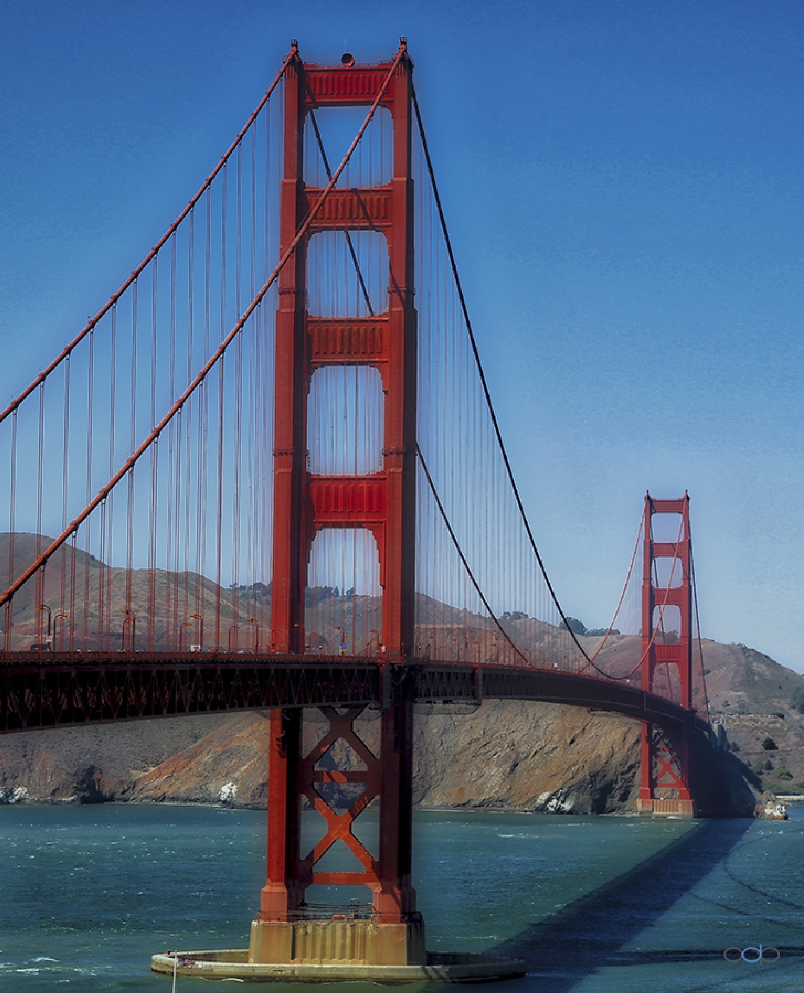 Another view of the Golden Gate Bridge . . . by OneDigitalPlacePhotography