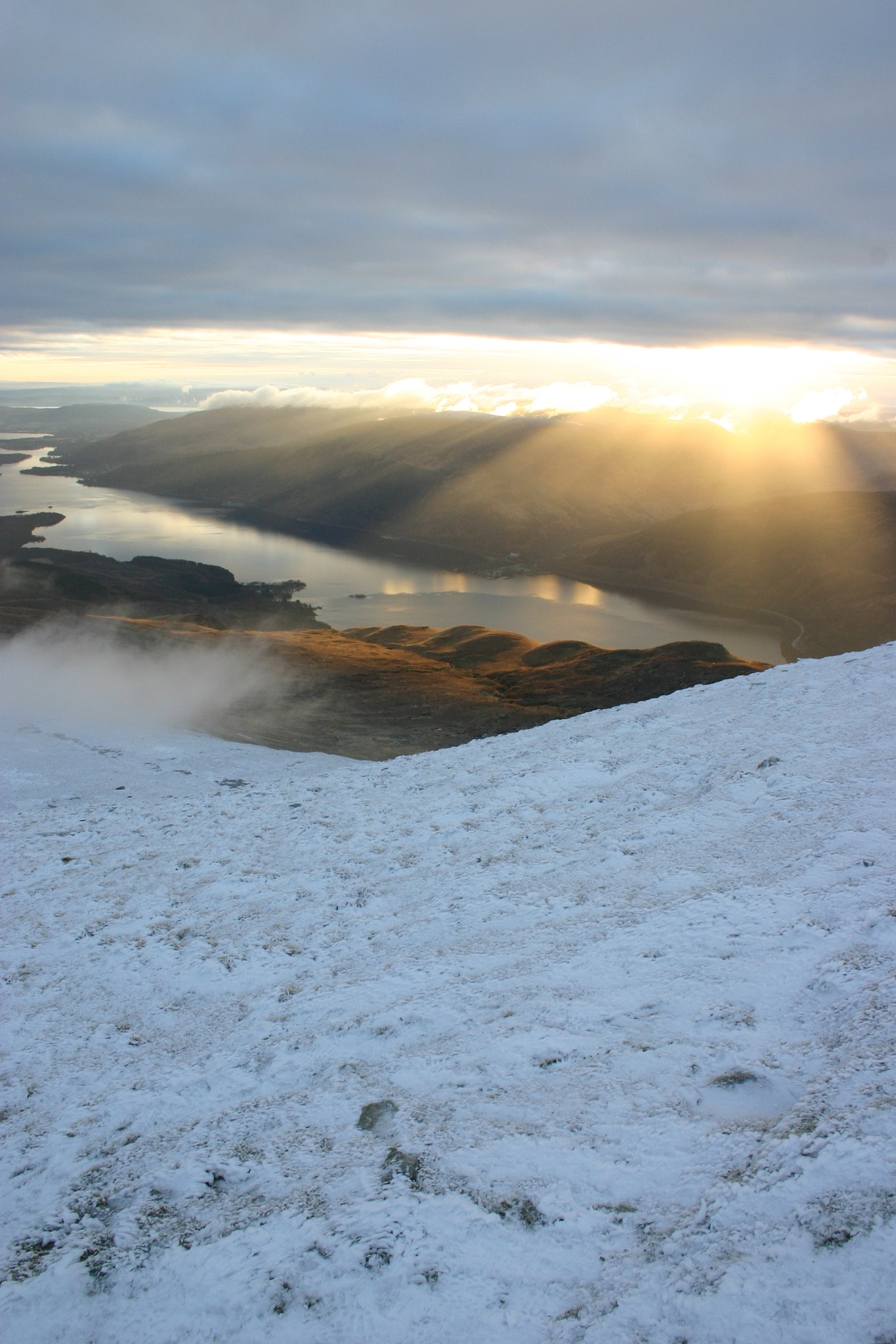 The Sun Sets on Loch Lomond by Fraser McCulloch