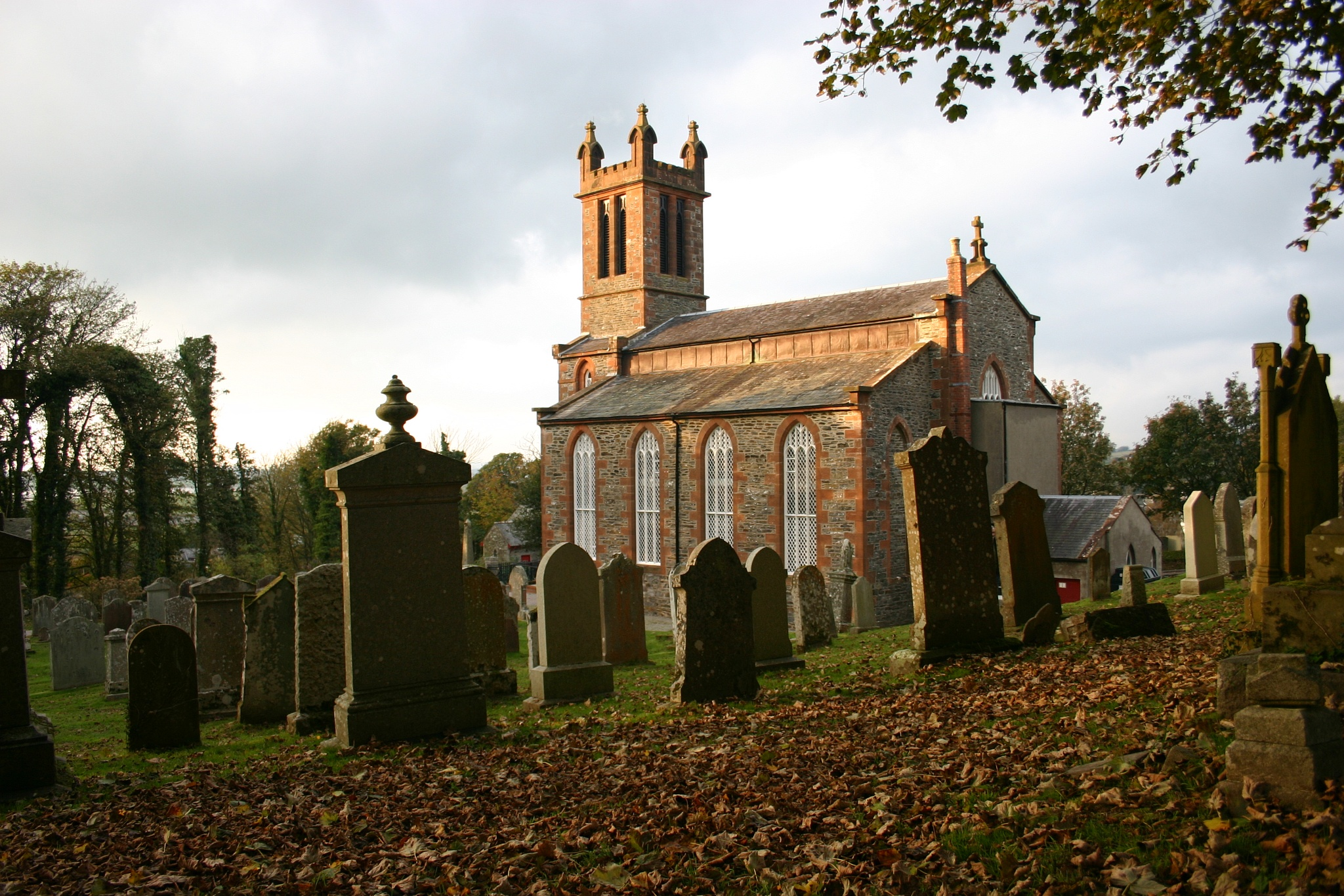 Kirkmabreck Parish Church by Fraser McCulloch