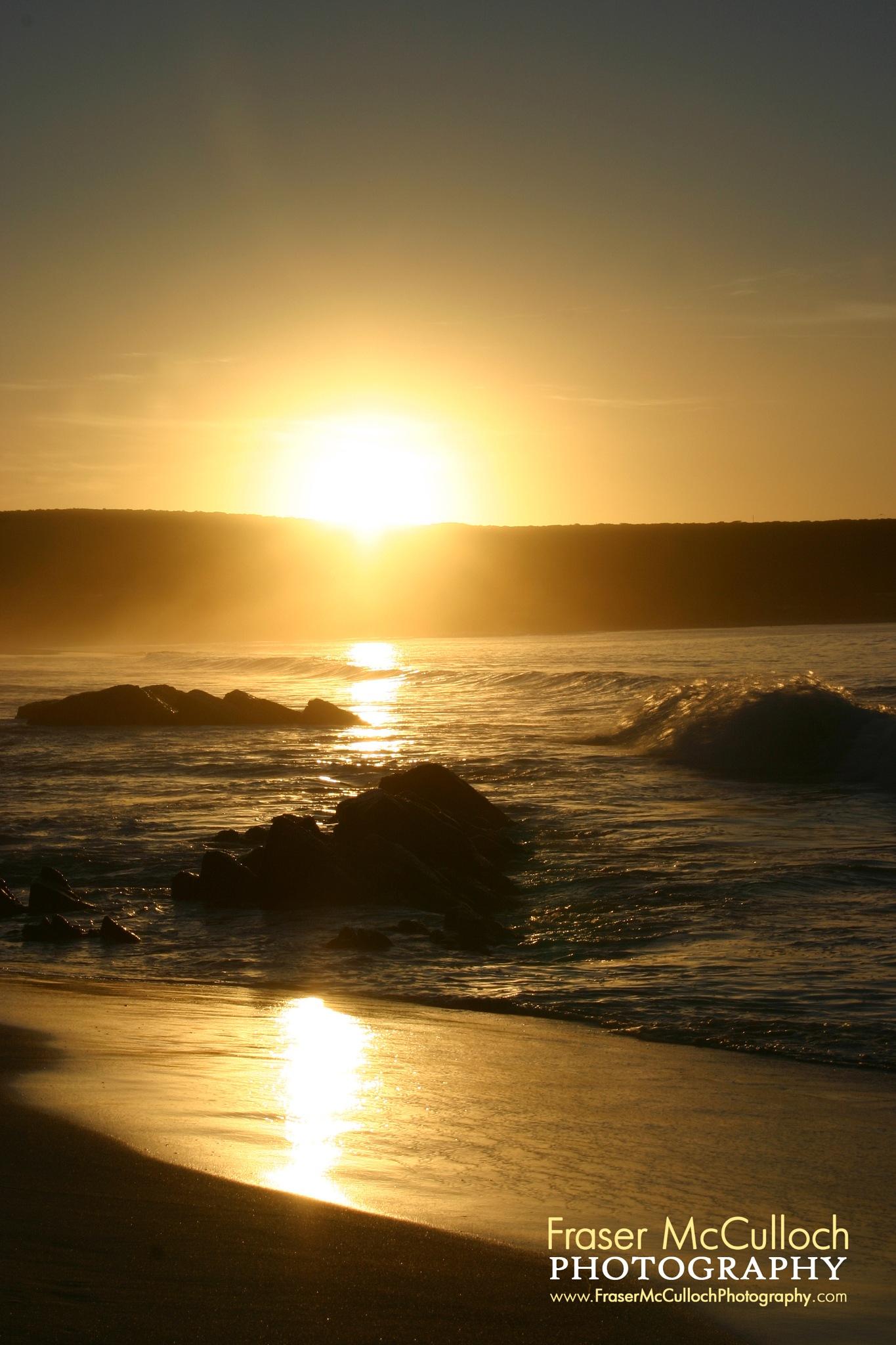 Ocean Sunset by Fraser McCulloch