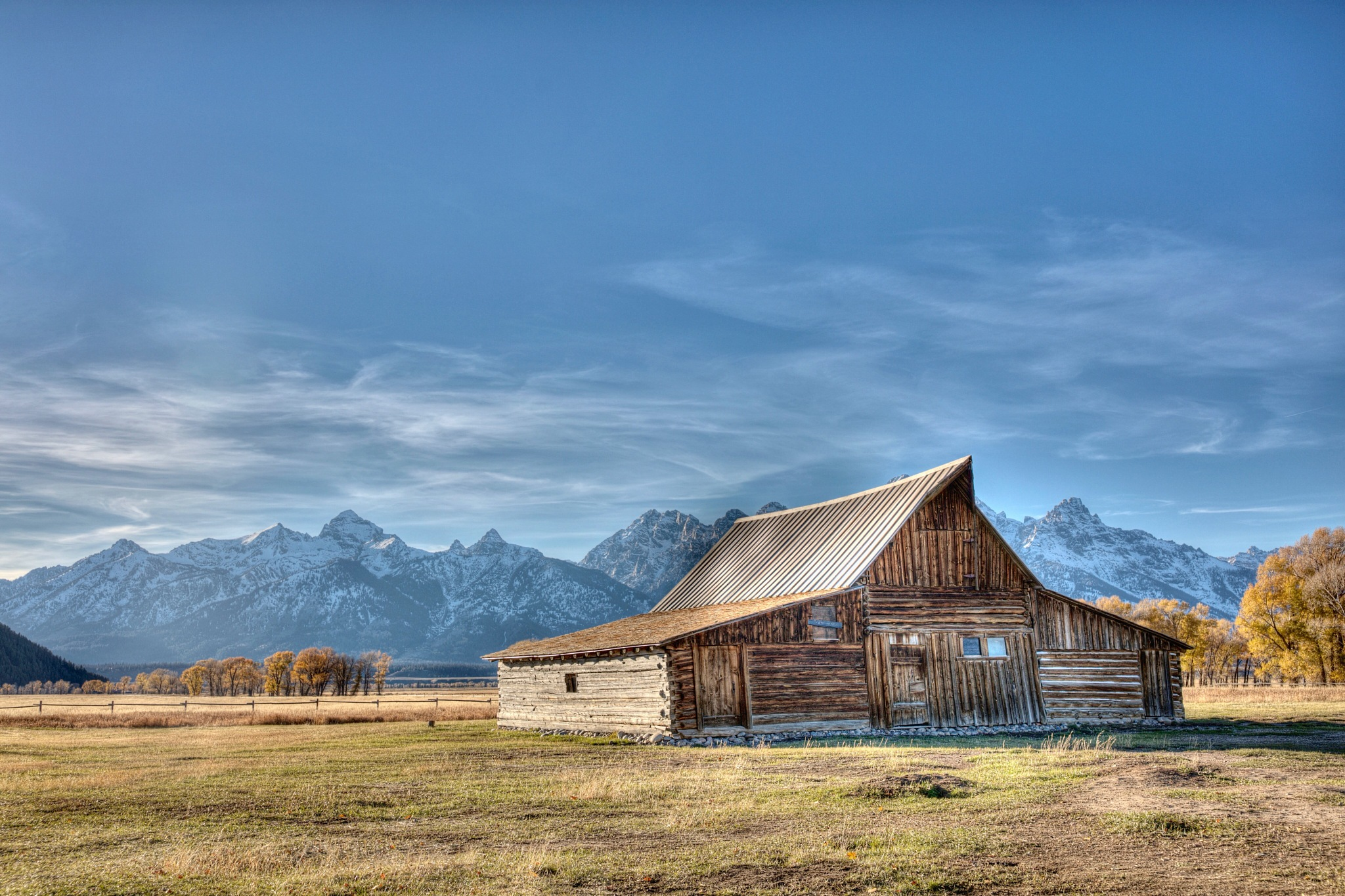 Moulton Barn Jackson Wyoming by kylewoodbury