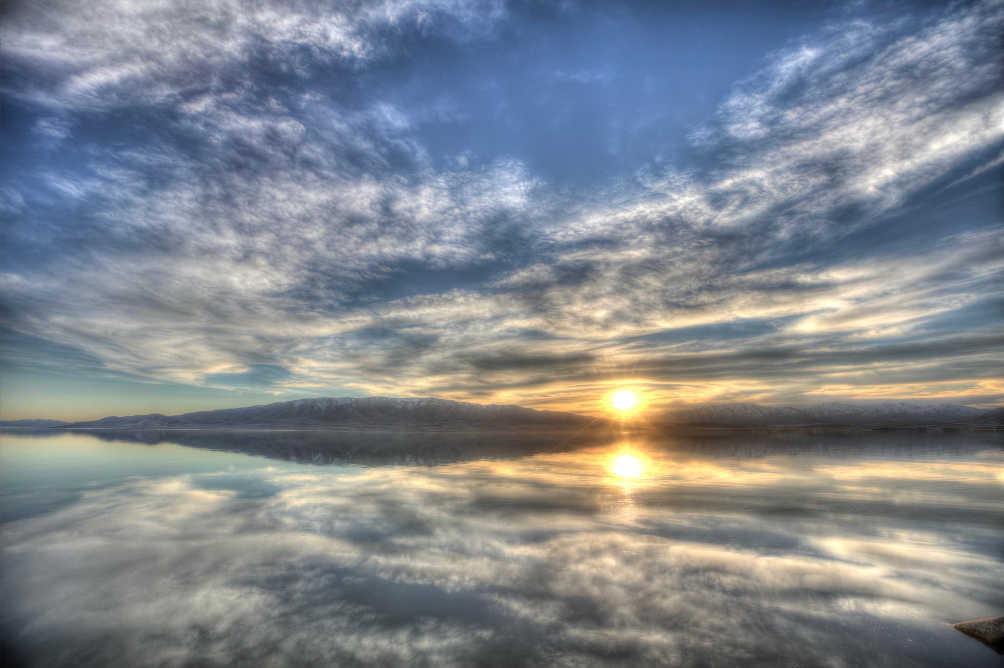 Nuclear Sky  by kylewoodbury