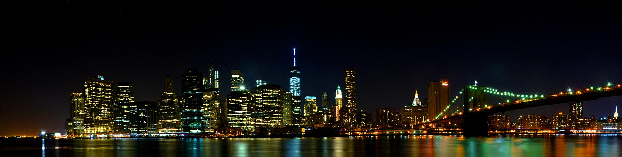 NYC by night by Cortez