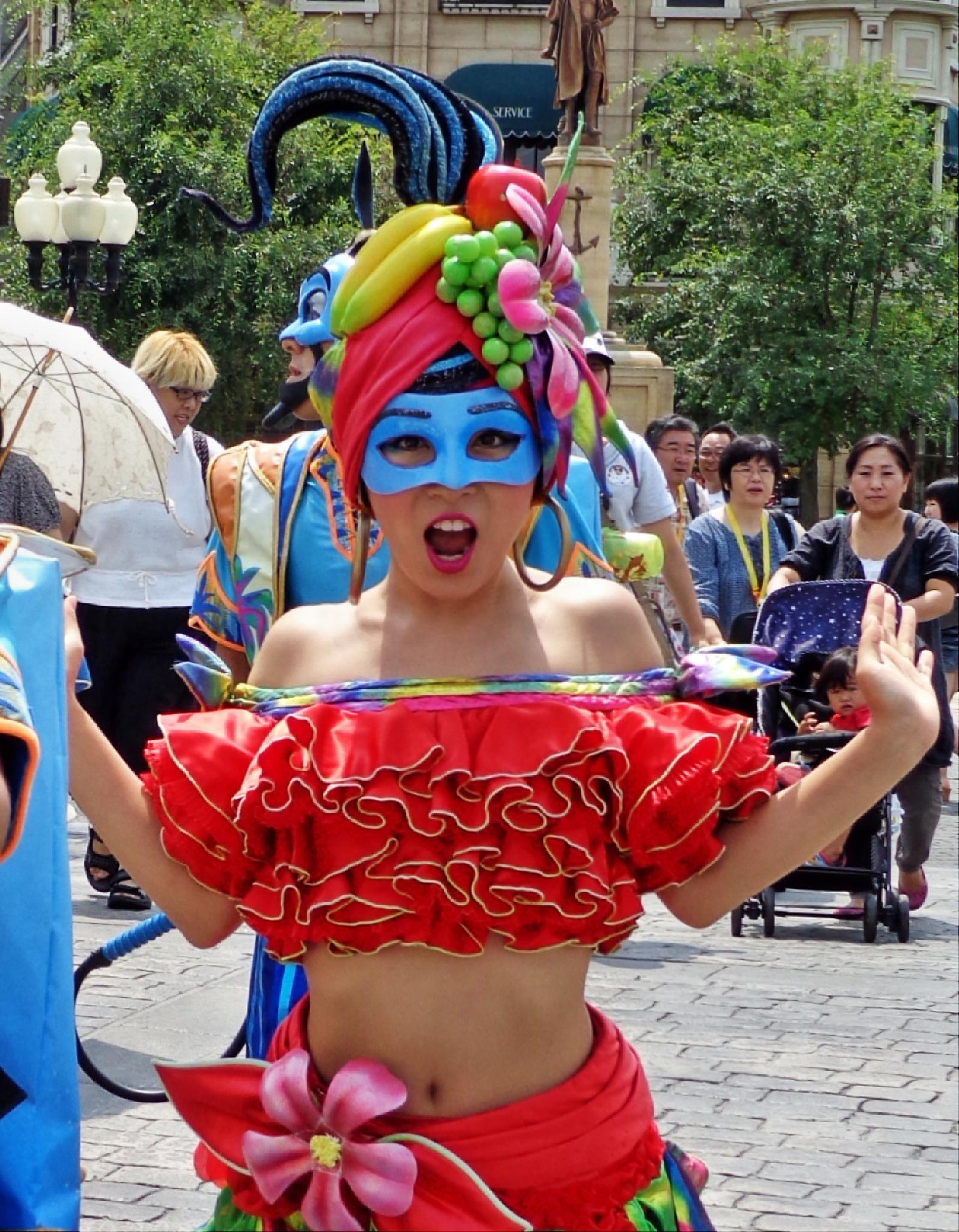 Photo in Travel #tokyo #character #disney sea #girl