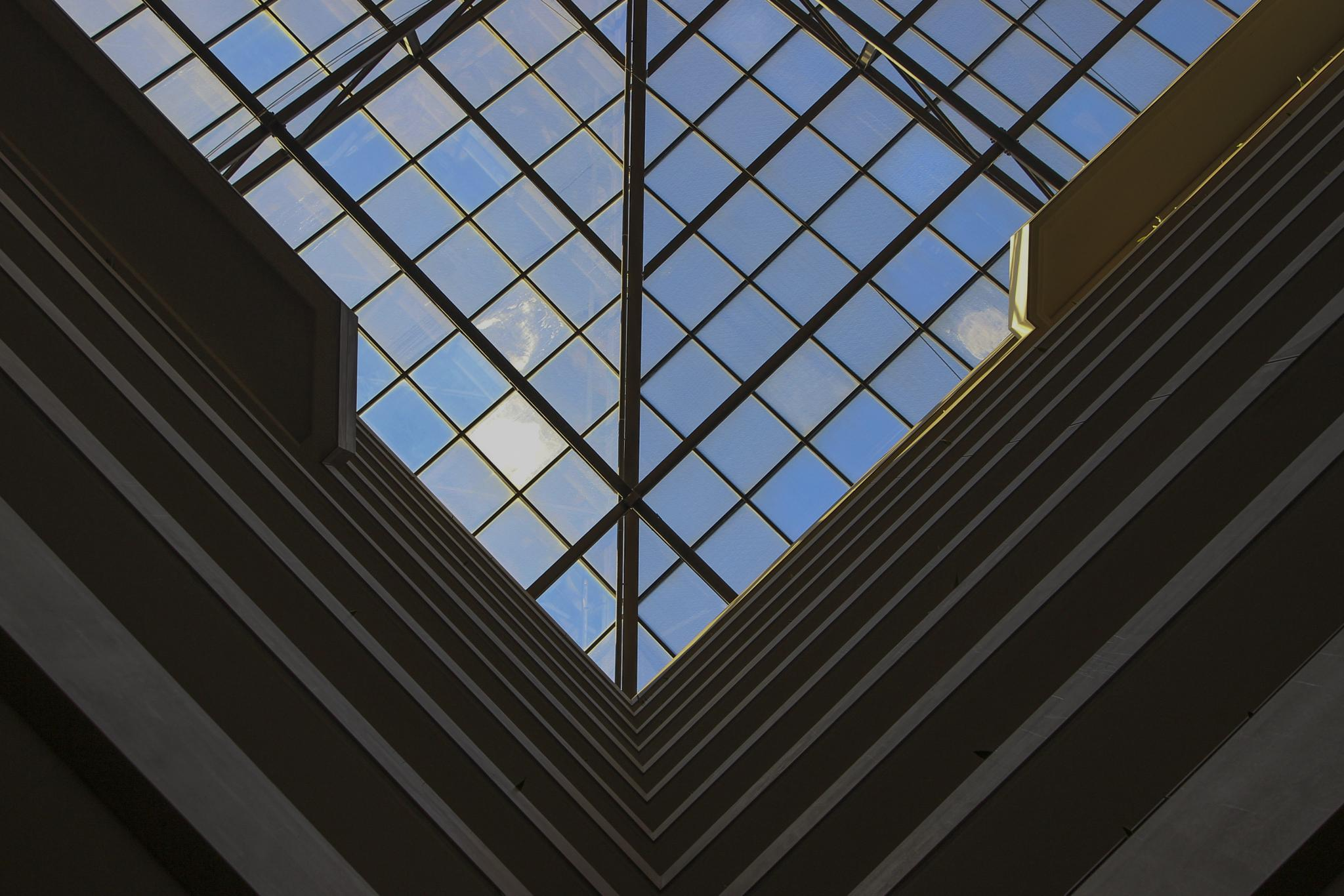Photo in Architecture #abstract #roof #symmetry #chicago