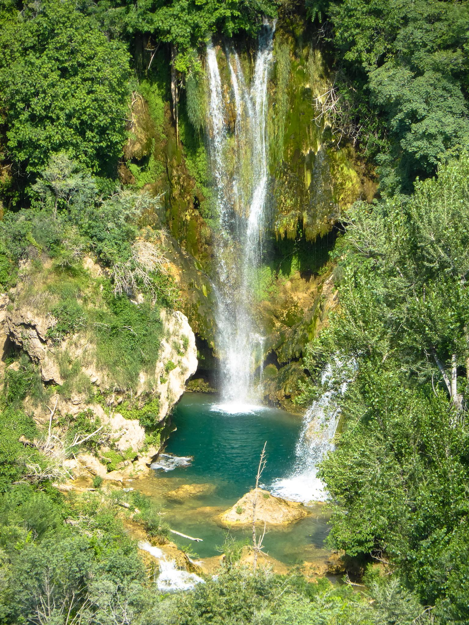 Waterfall on the Krka River by Babak A