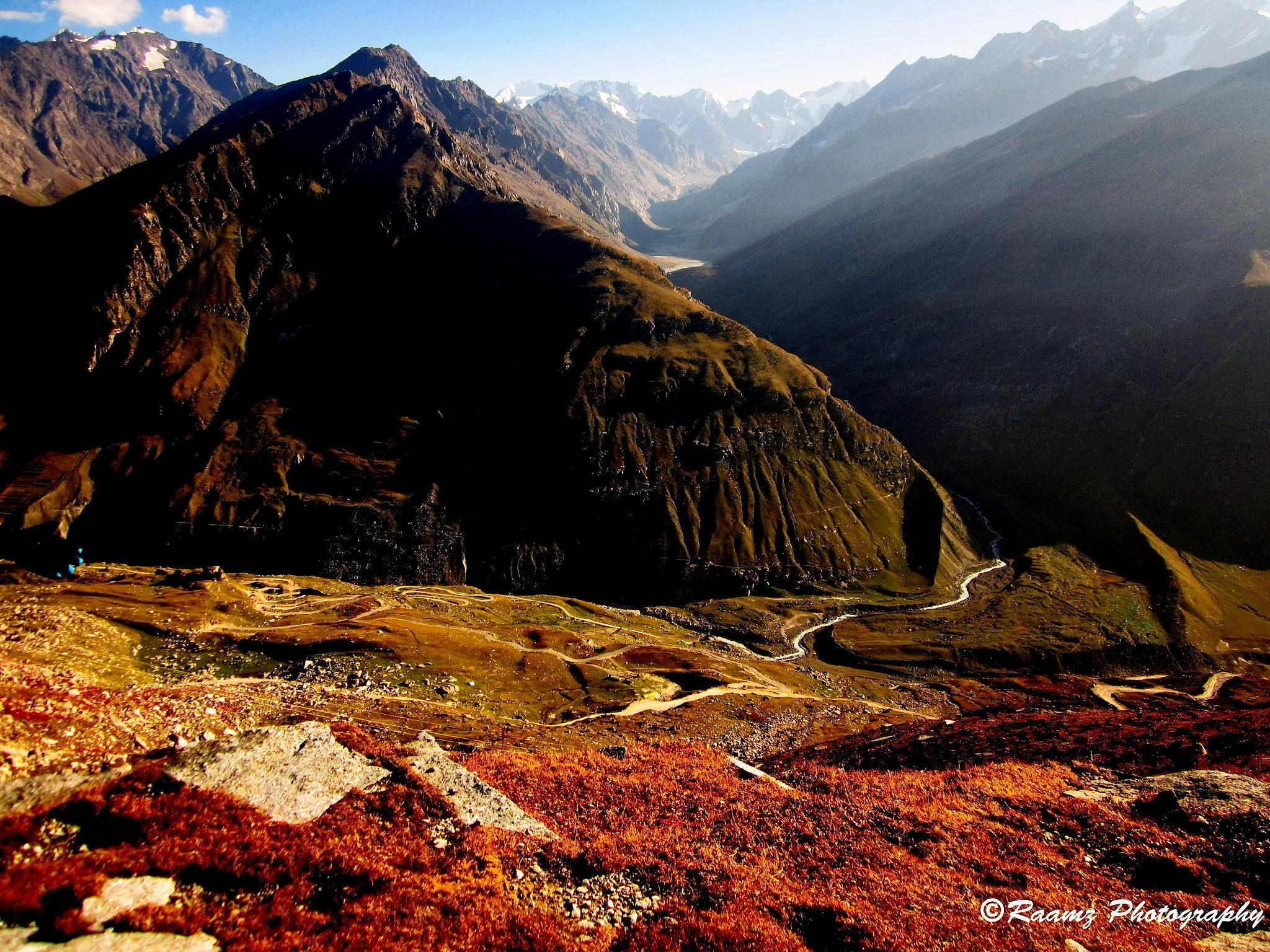 mountain range by ramadevireddy