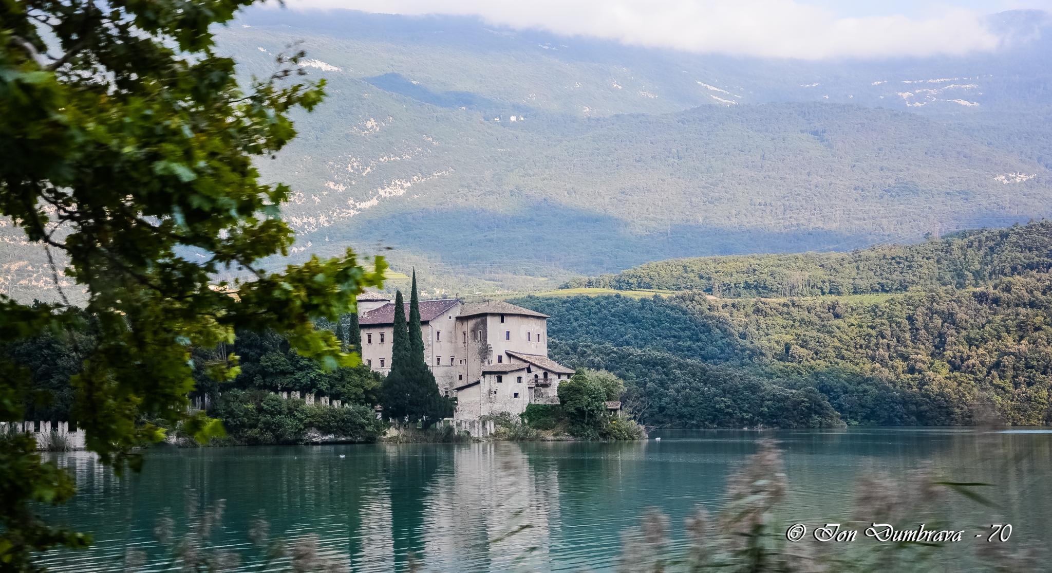 Castel Toblino by ION DUMBRAVA