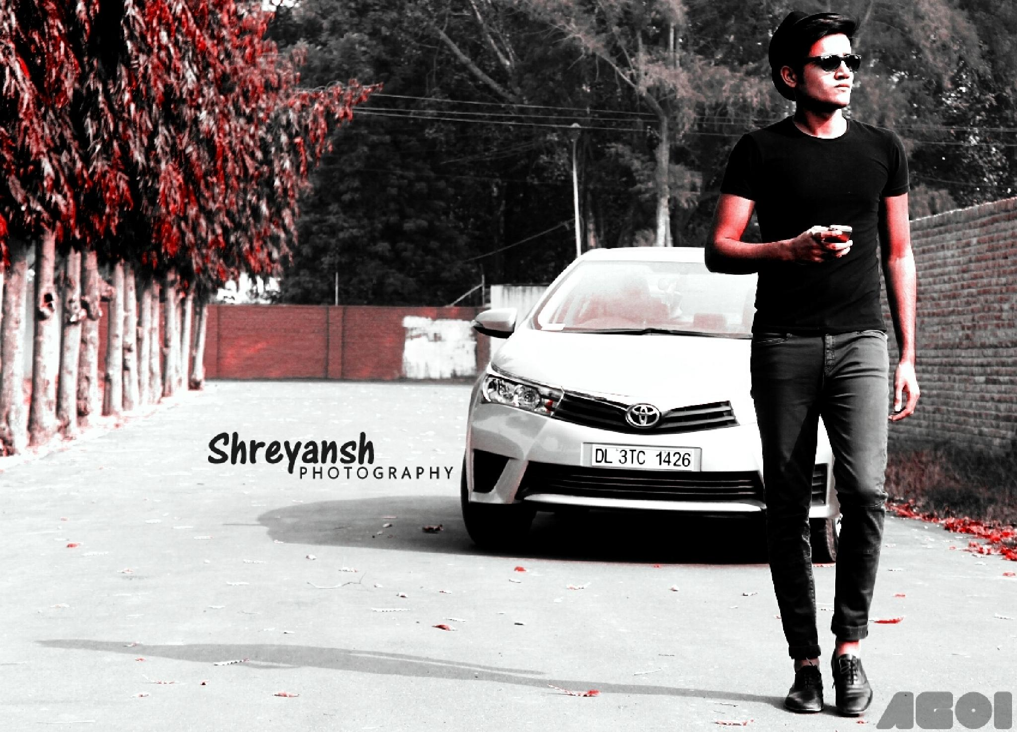 A man with a Style! by Shrey Ansh