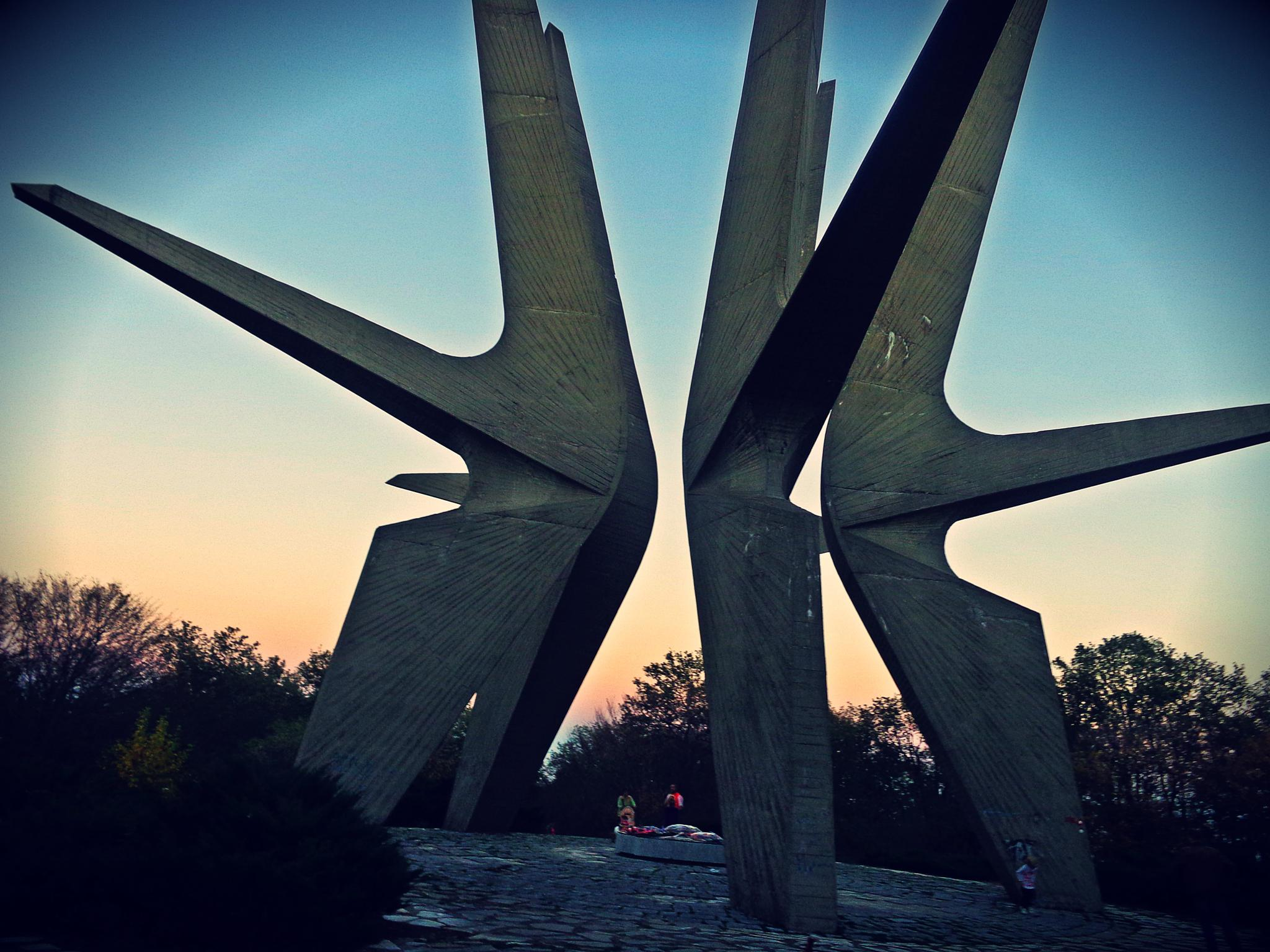 Kosmaj monument by Jelena Durlevic
