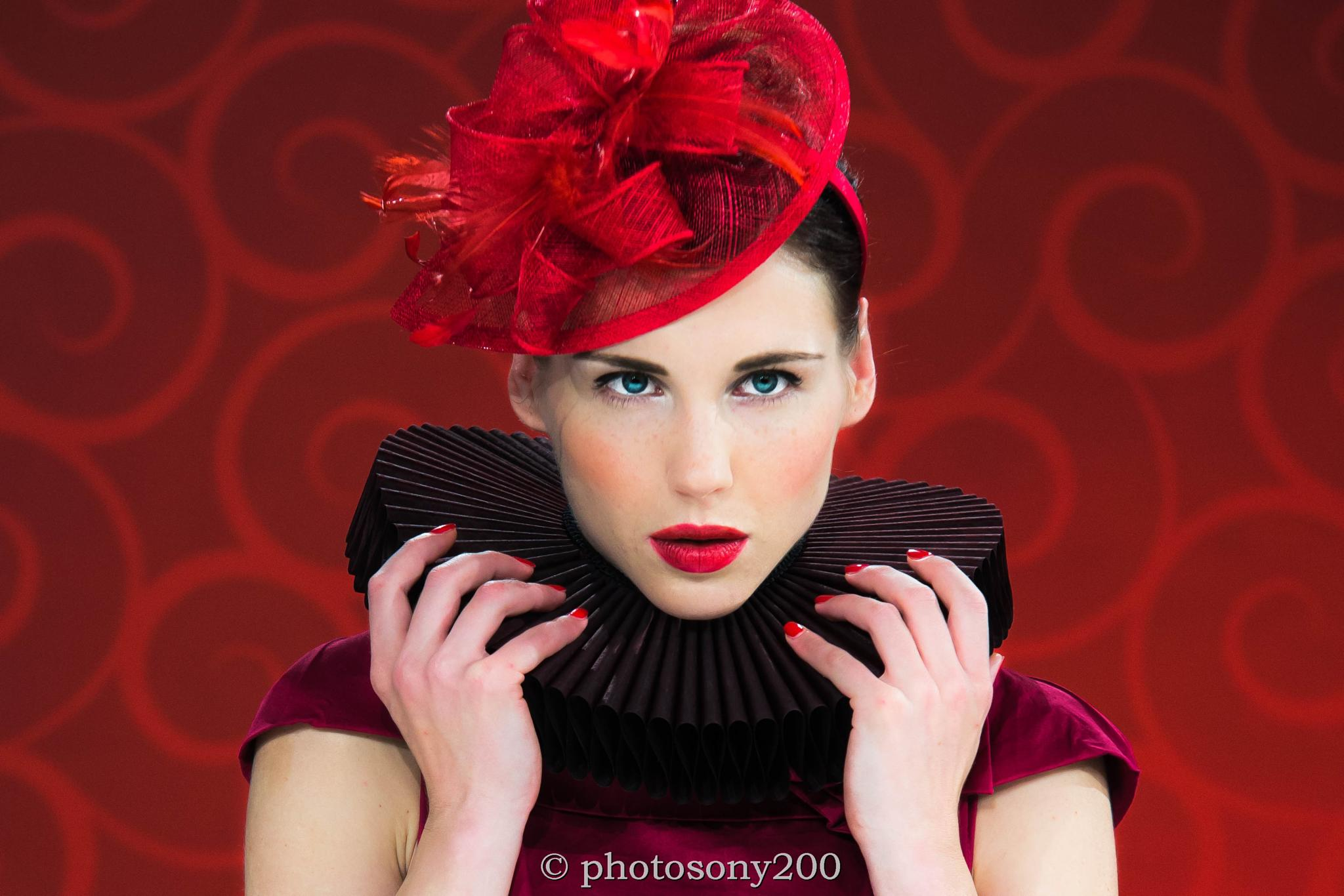 Red Retro by Paulus Charles