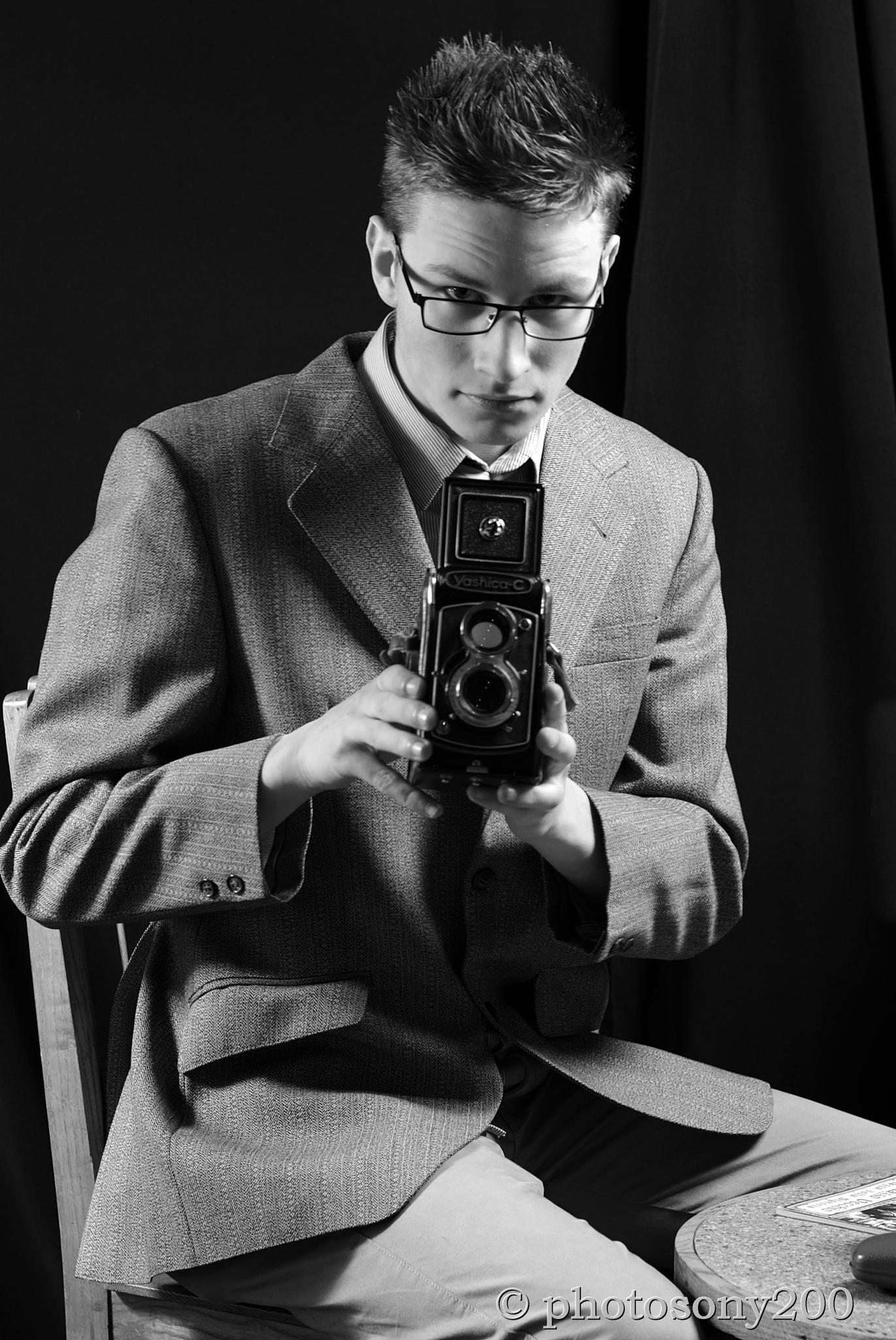 Photo in Portrait #retro #black&white #portrait