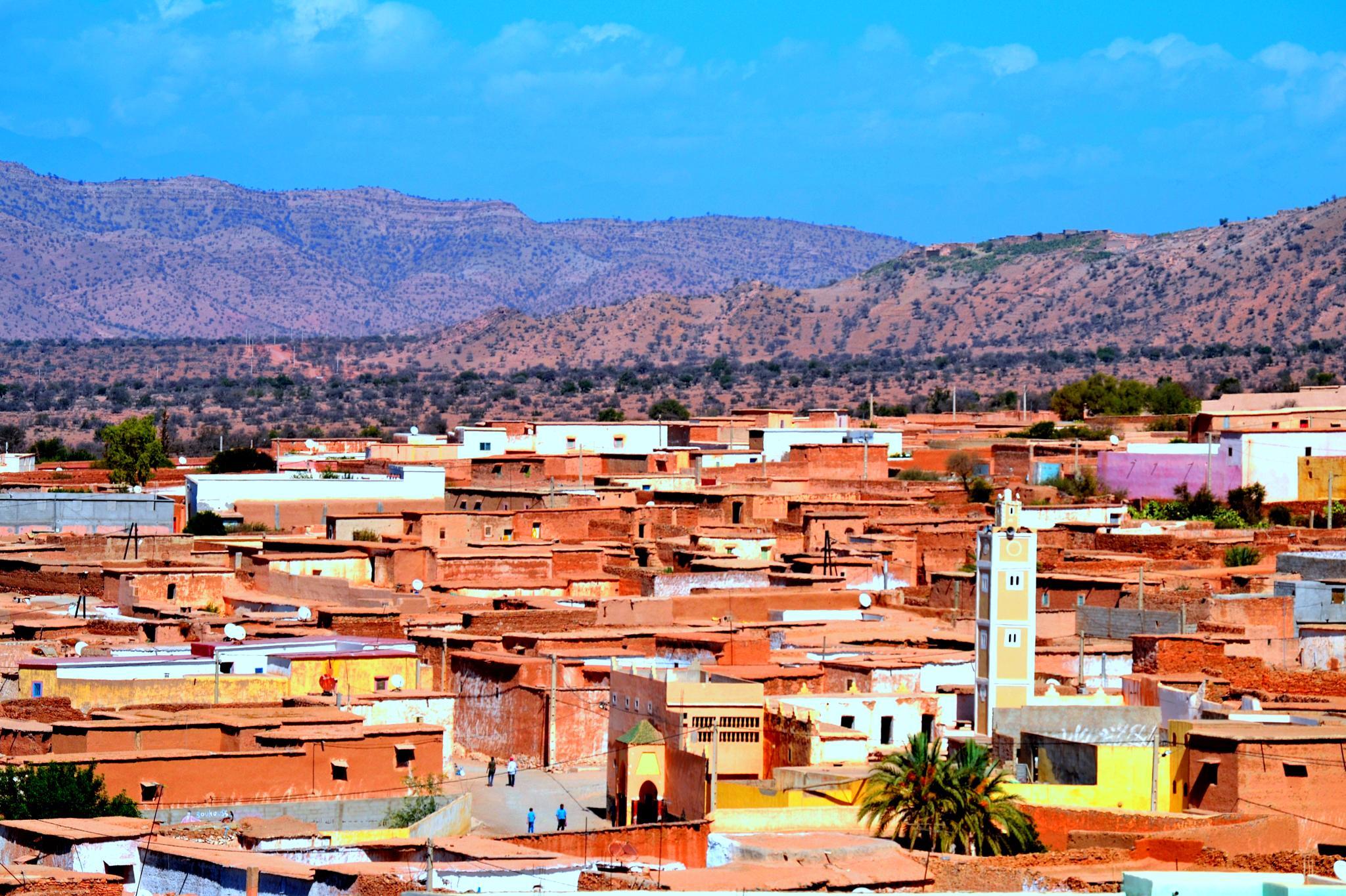 Tinwaynan: Berber Village by elhabiblouai