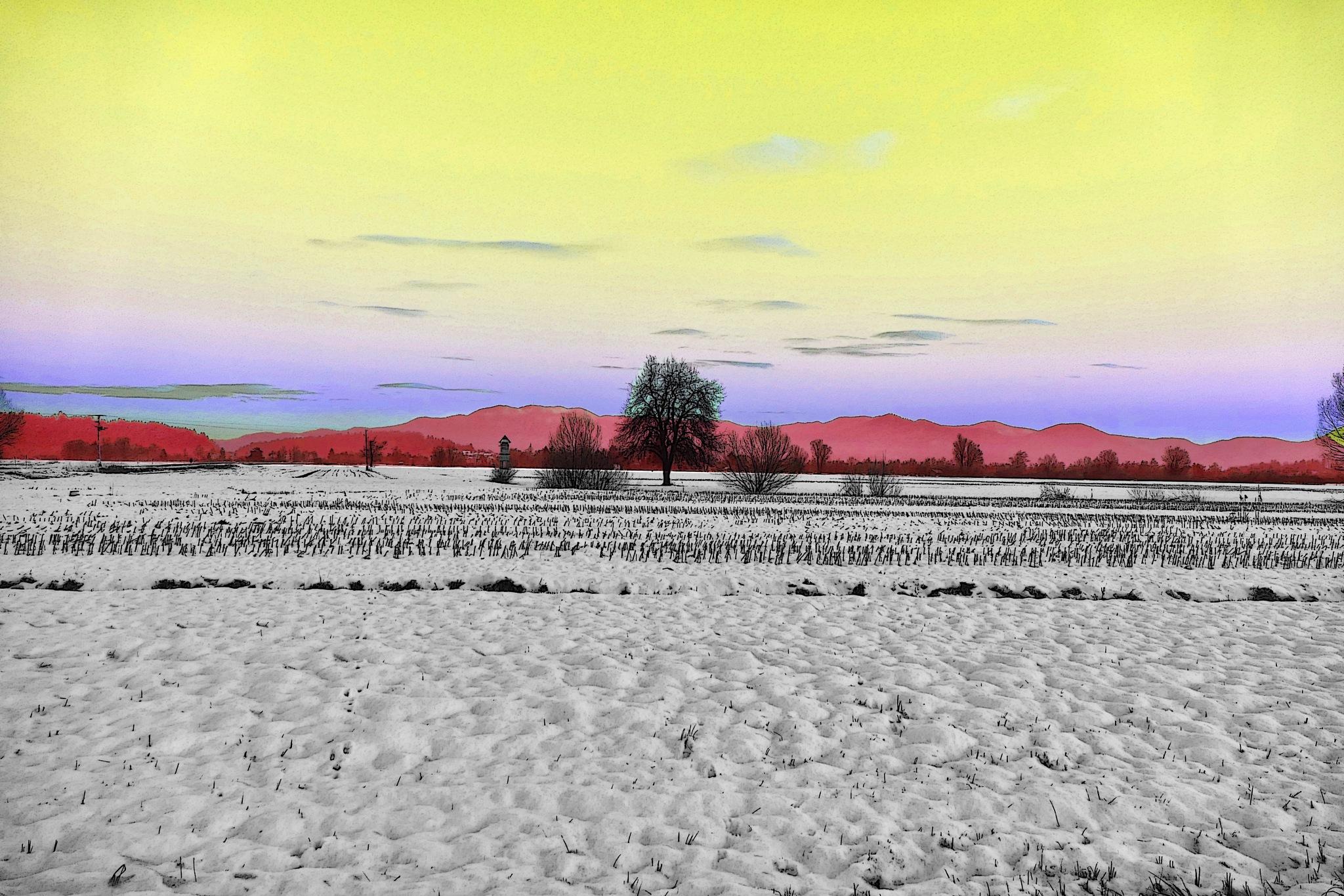 Abstract Landscape by sreten nakićenović