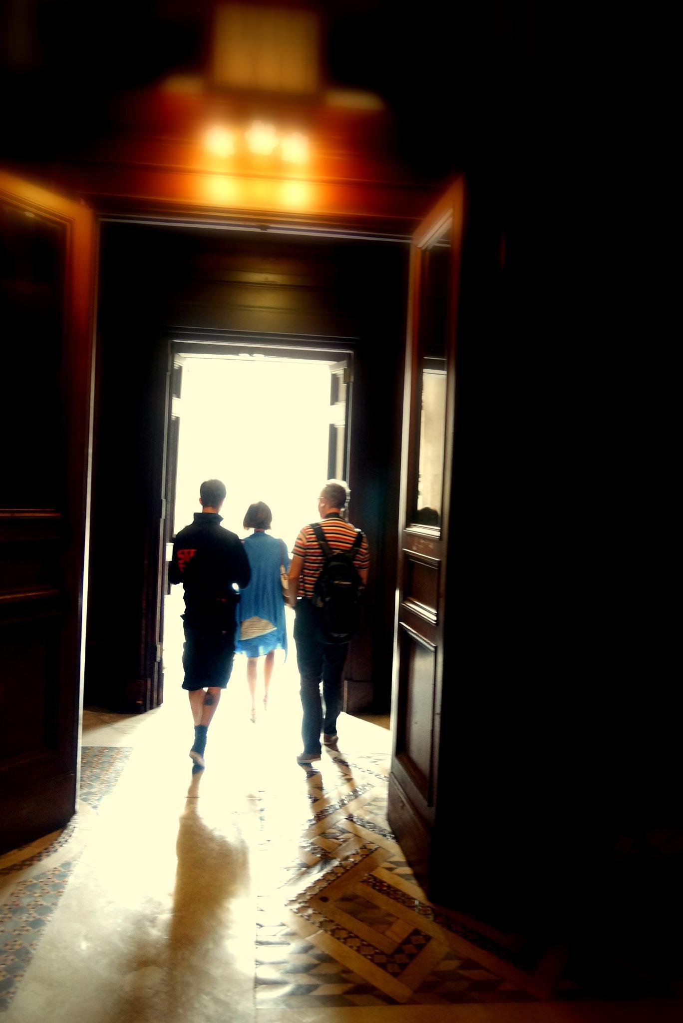 way out from the museum by sreten nakićenović