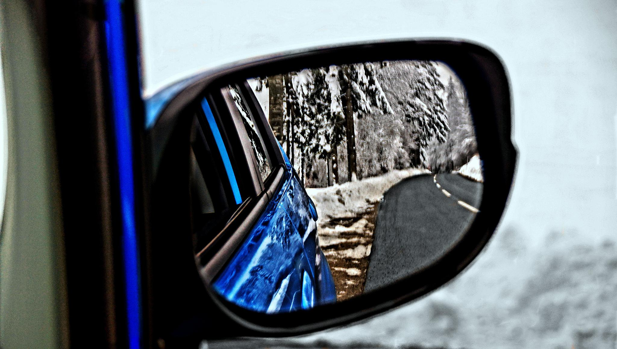 rearview mirror by sreten nakićenović