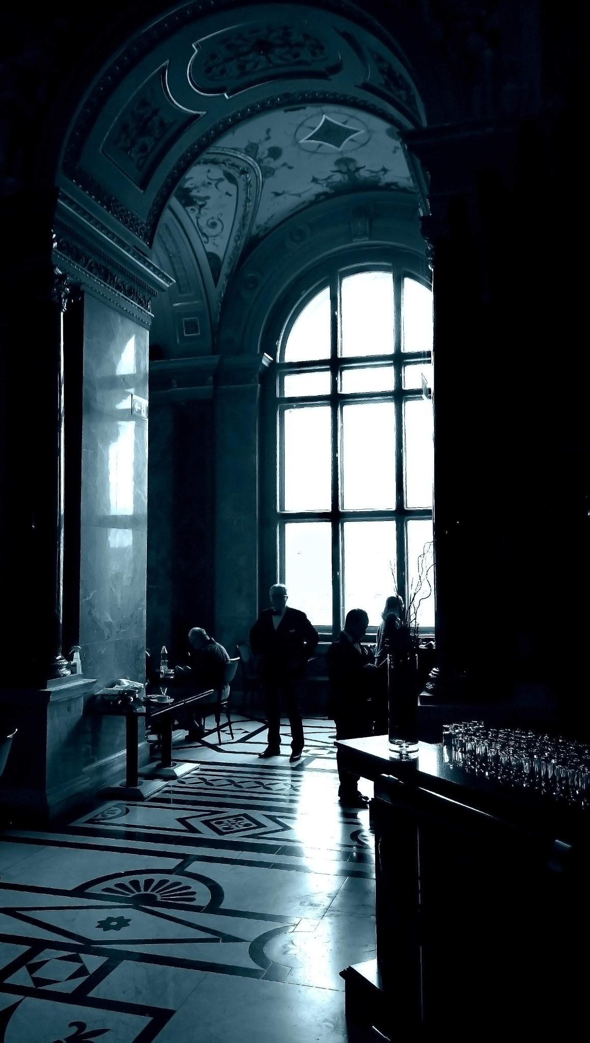 Blue Hall by sreten nakićenović