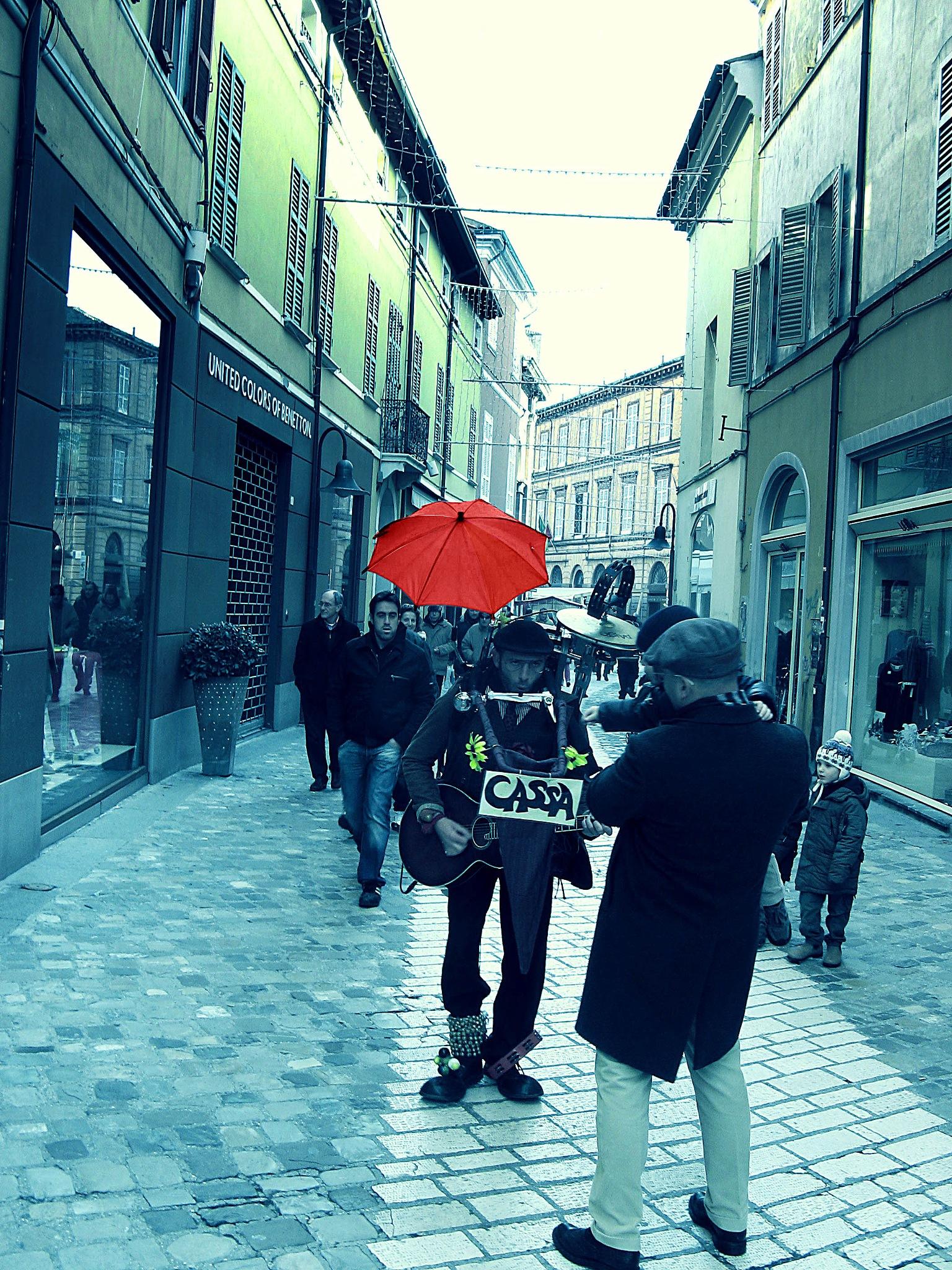 Musicista di strada2 by sreten nakićenović