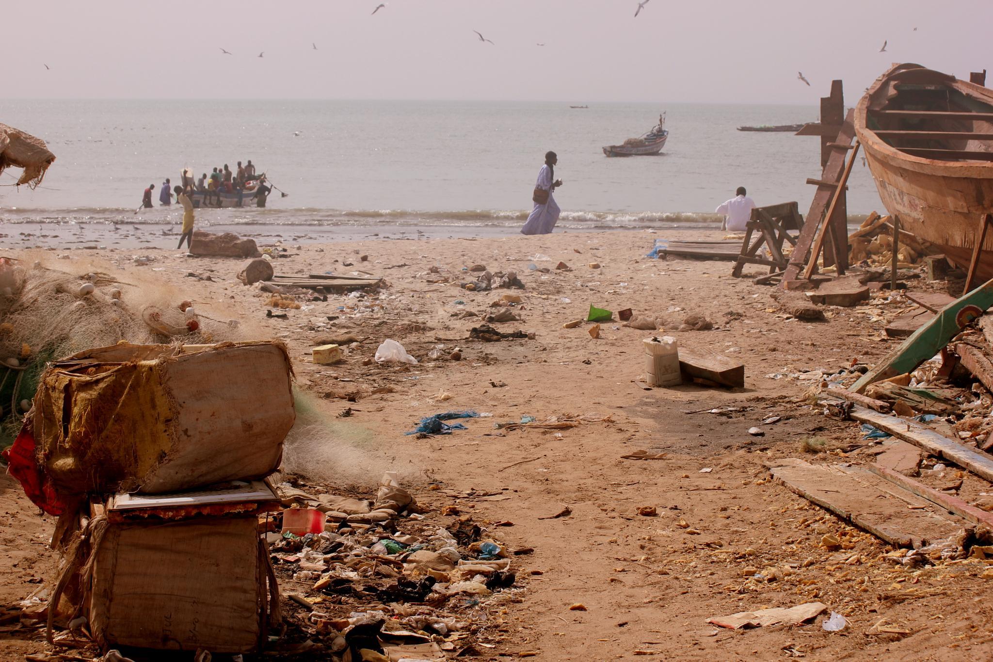 Fishing in Tanji, Gambia by selien.kimpe