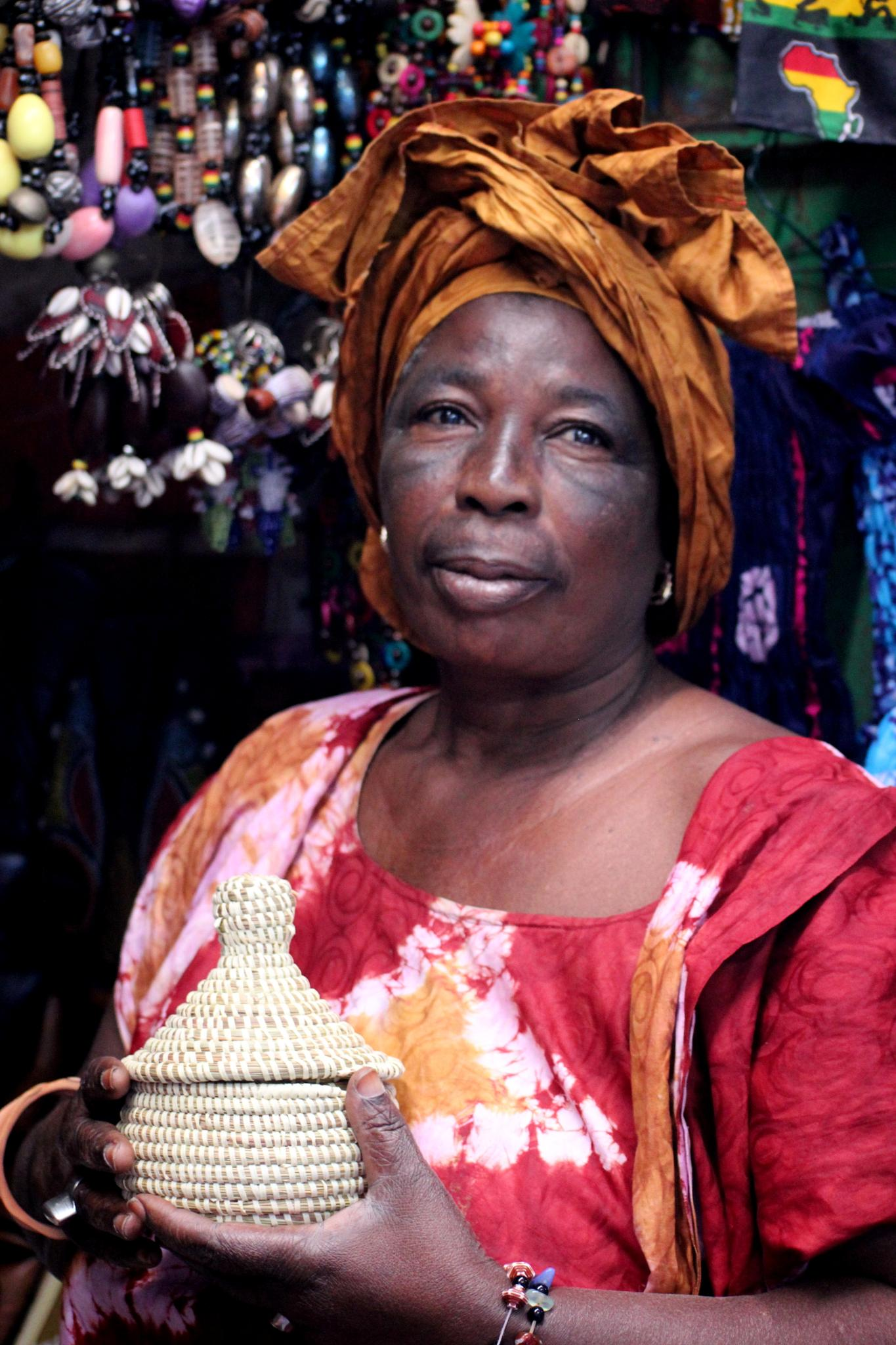 Lady in Gambia by selien.kimpe
