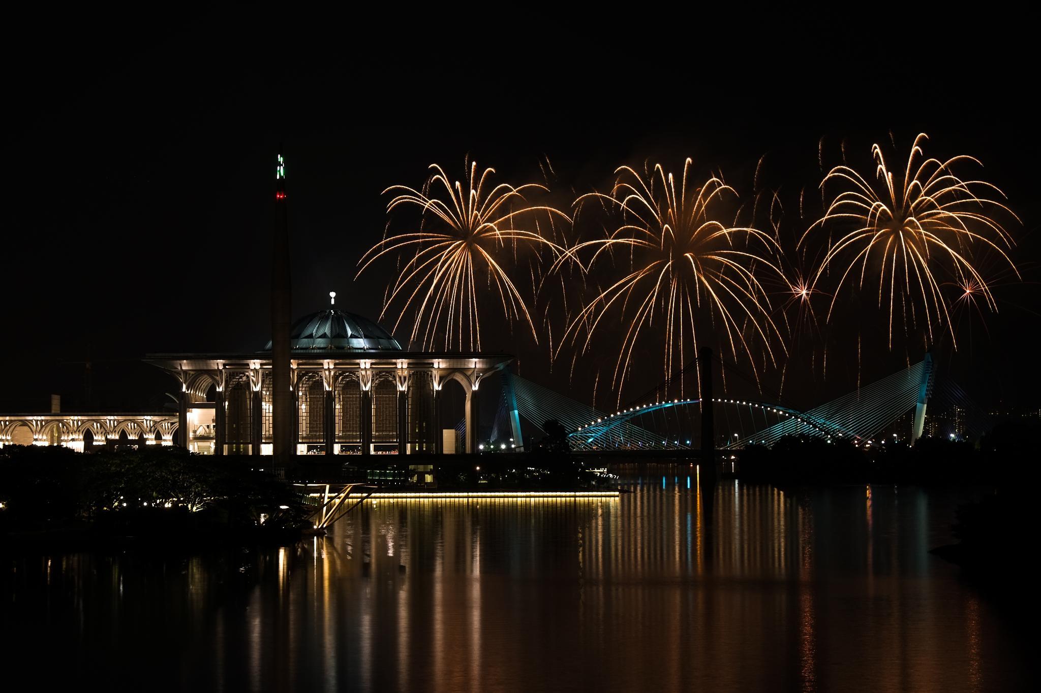 Fireworks by Burhanuddin