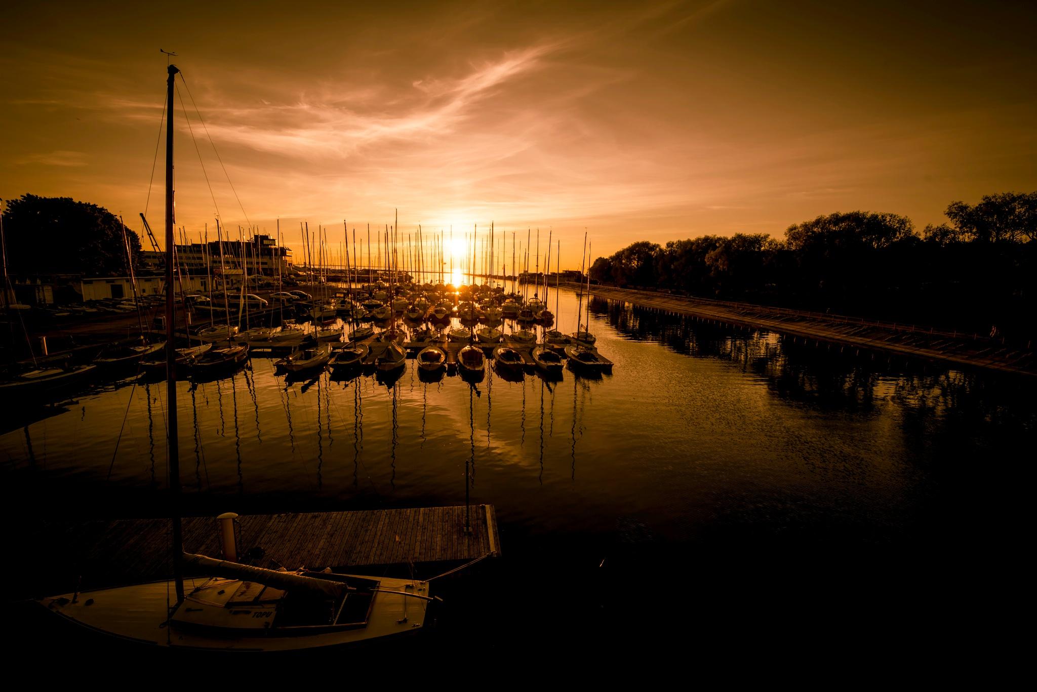 """""""Sleeping harbour"""" by Ole Vikshaaland"""