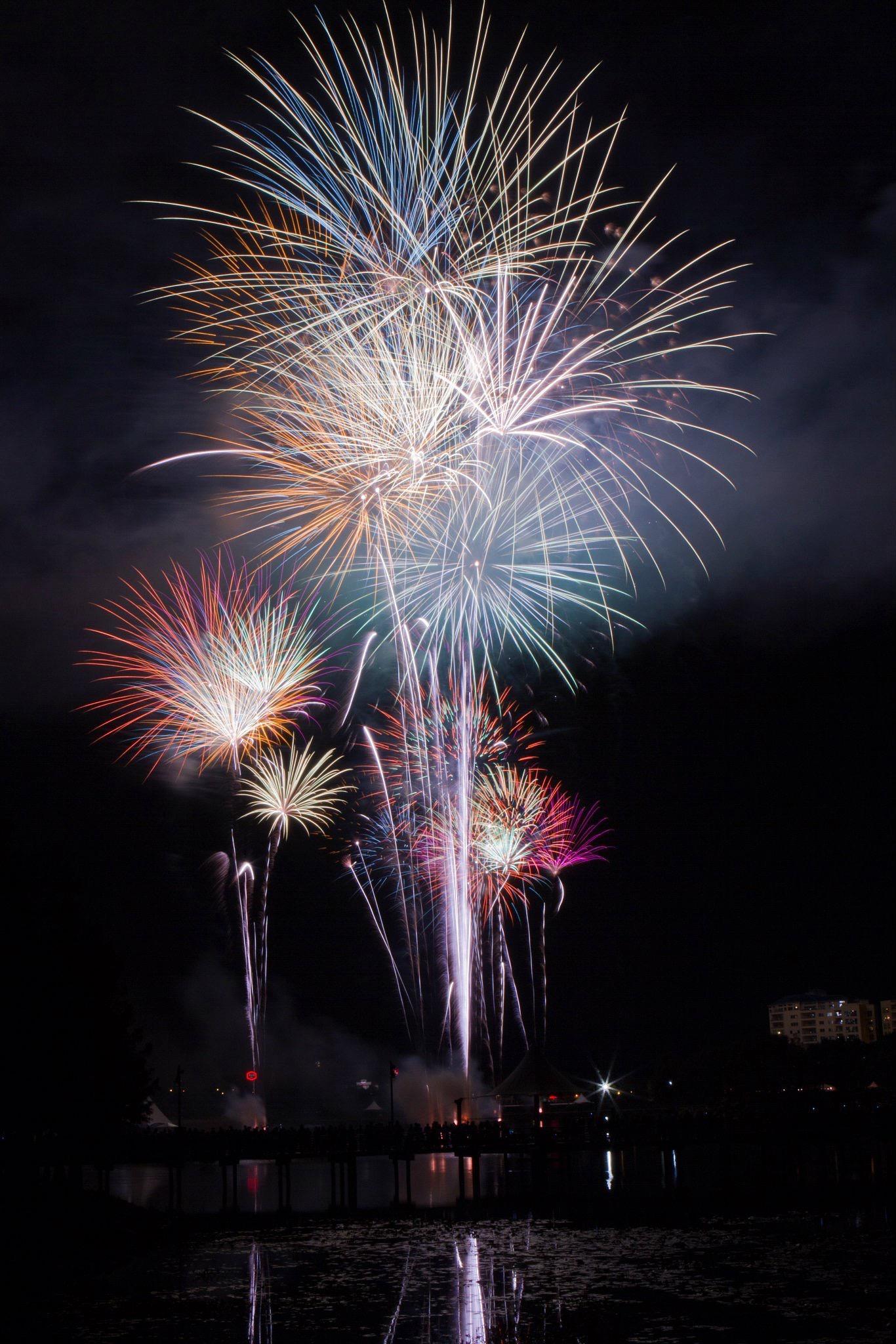 4th of July Fireworks by Domenik Jost