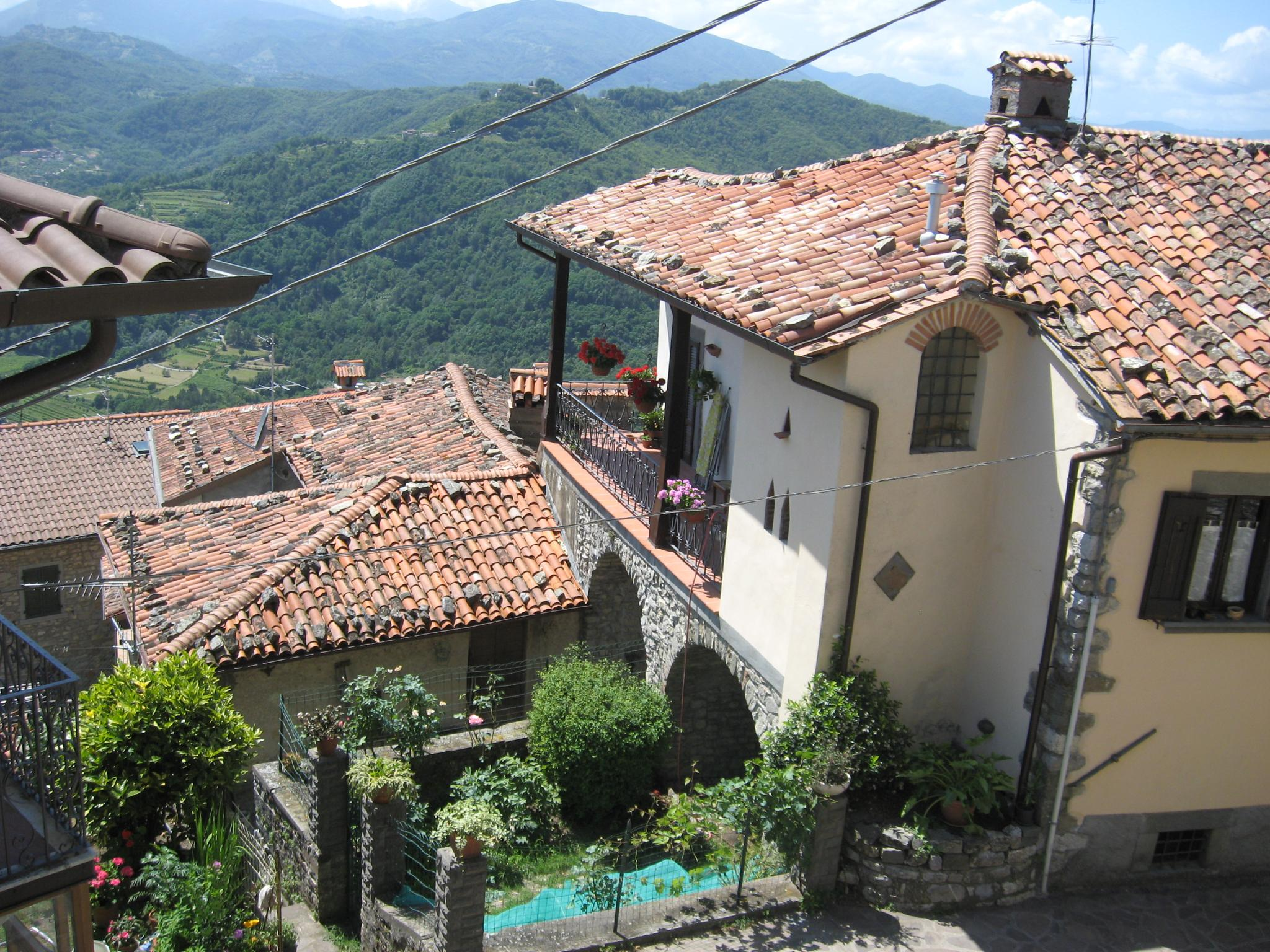 rooftops in toscana,Italy by doron