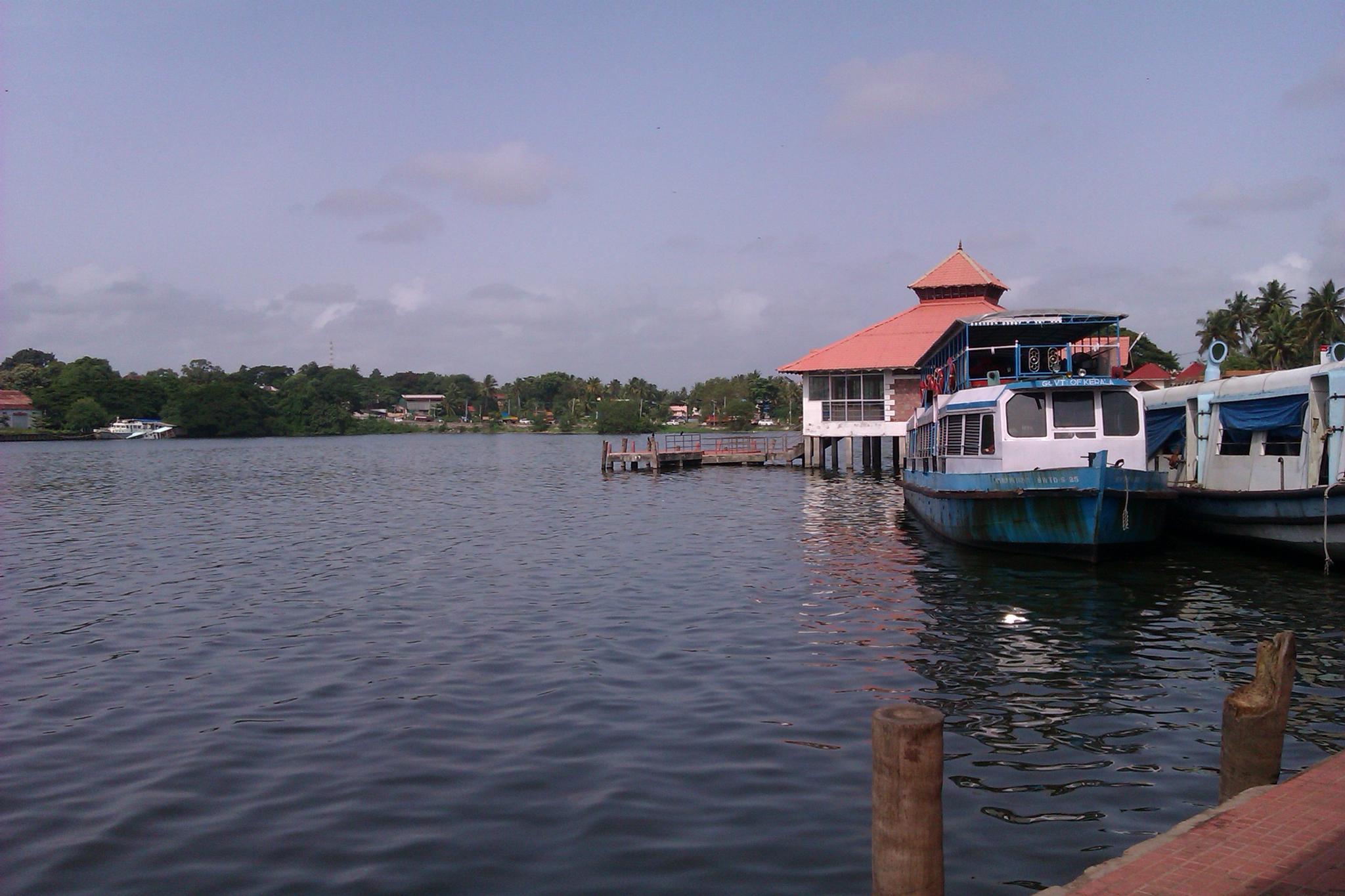 Boat Jetty by Jayakumar Y