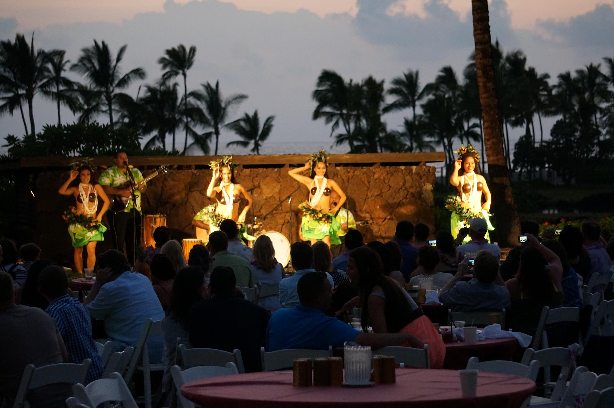 Waikoloa, Hawaii luau by tanukisan